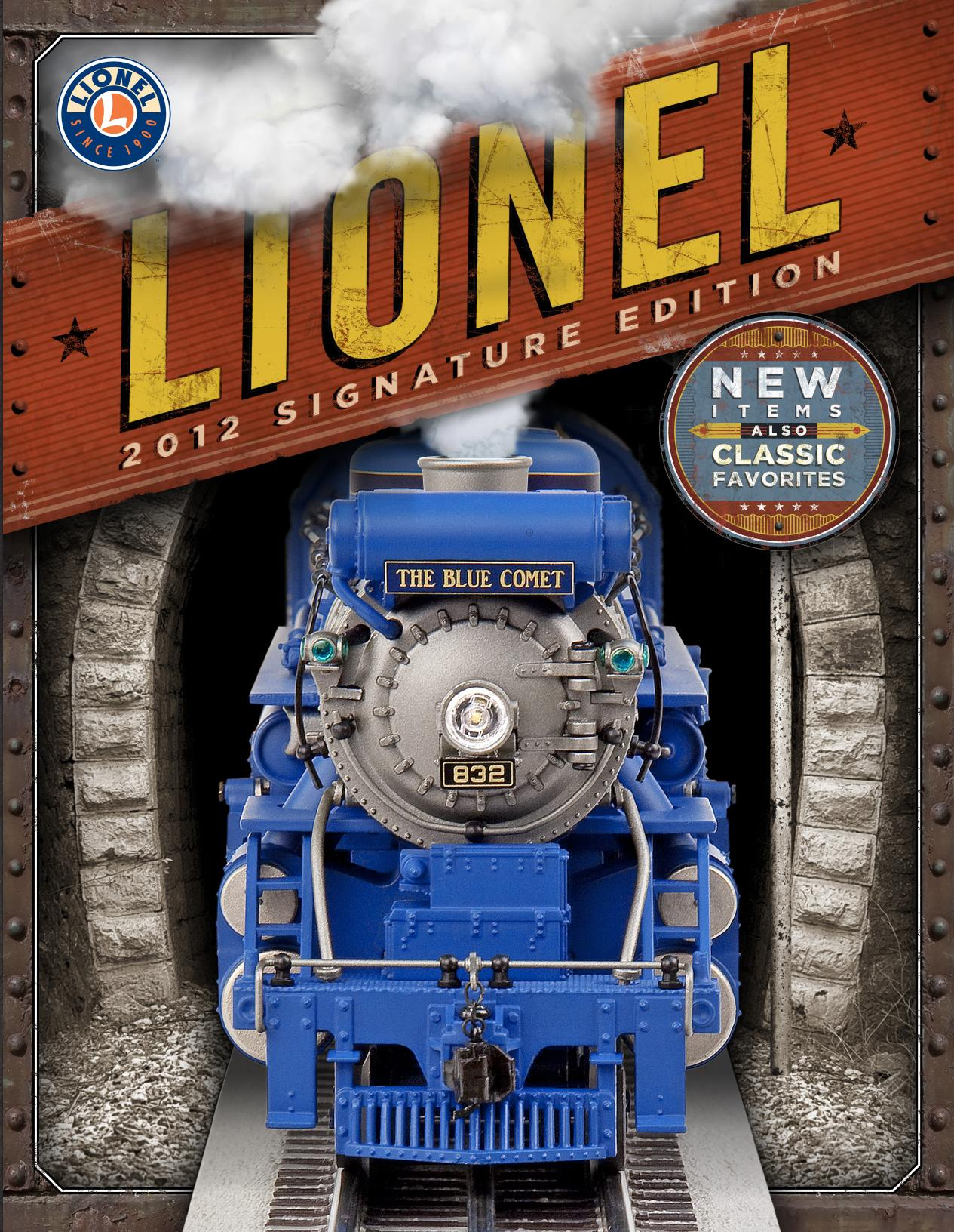 Lionel Catalogs - Signature Edition 2012