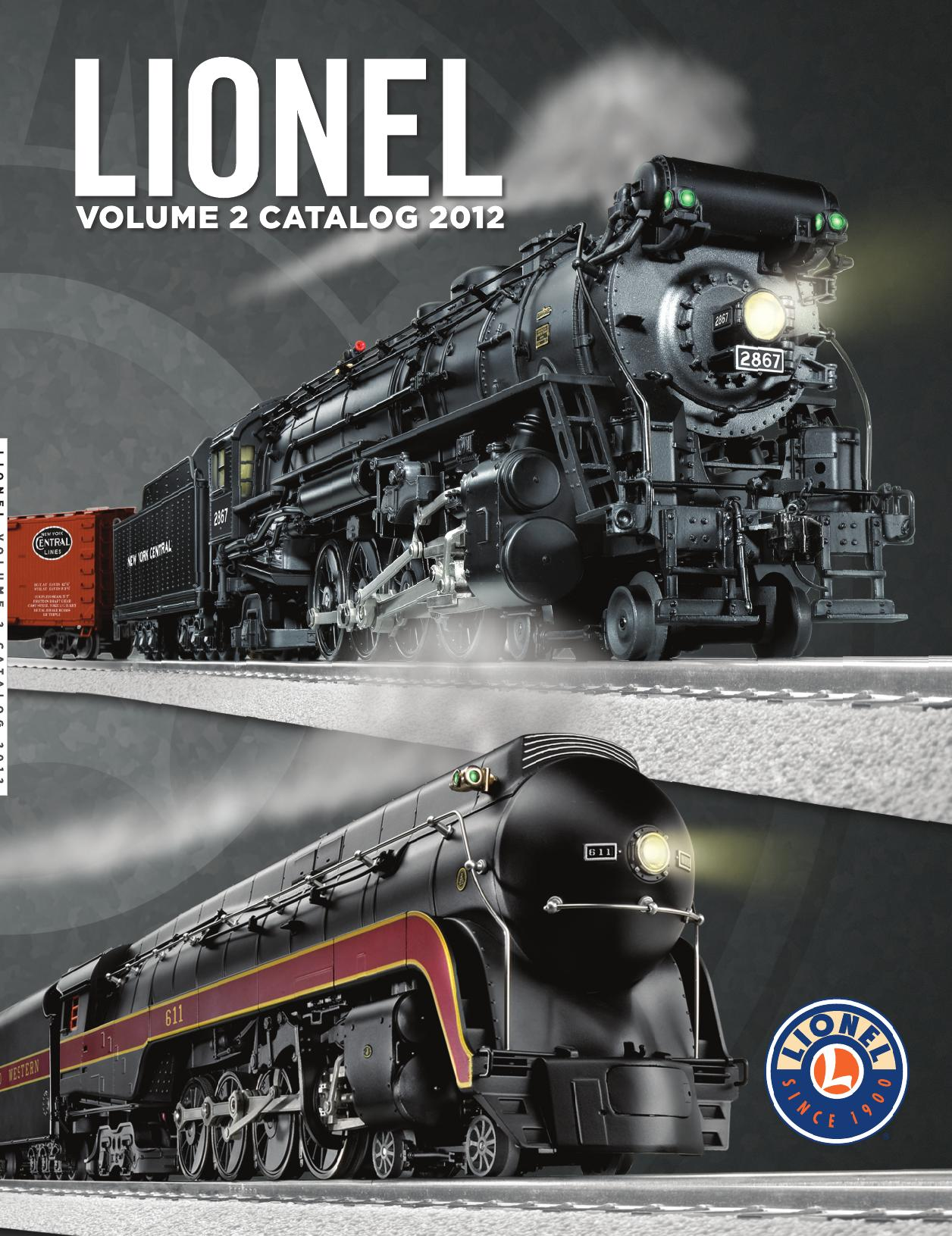 Lionel Catalogs - Volume 2 2012