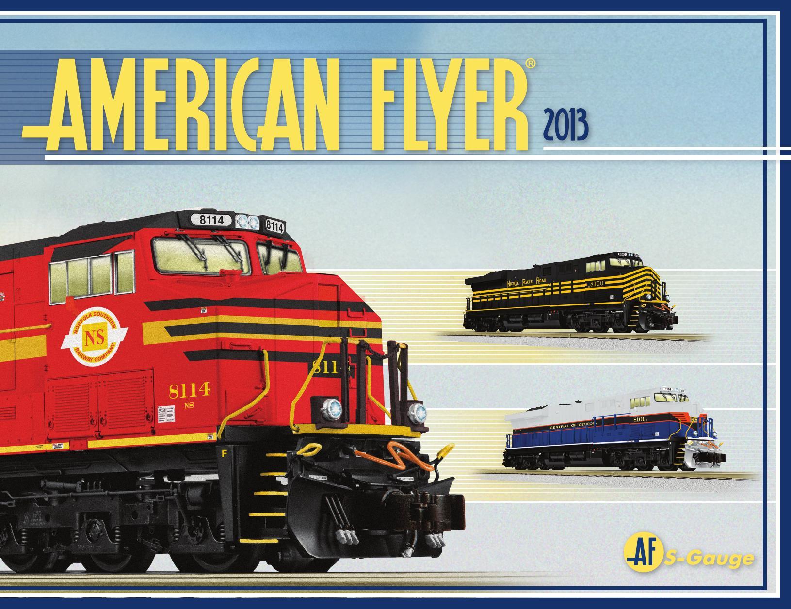 Lionel Catalogs - American Flyer 2013