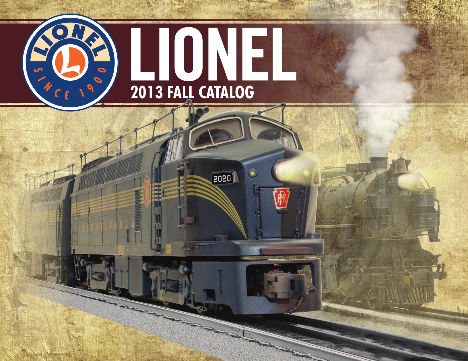Lionel Catalogs - Fall 2013