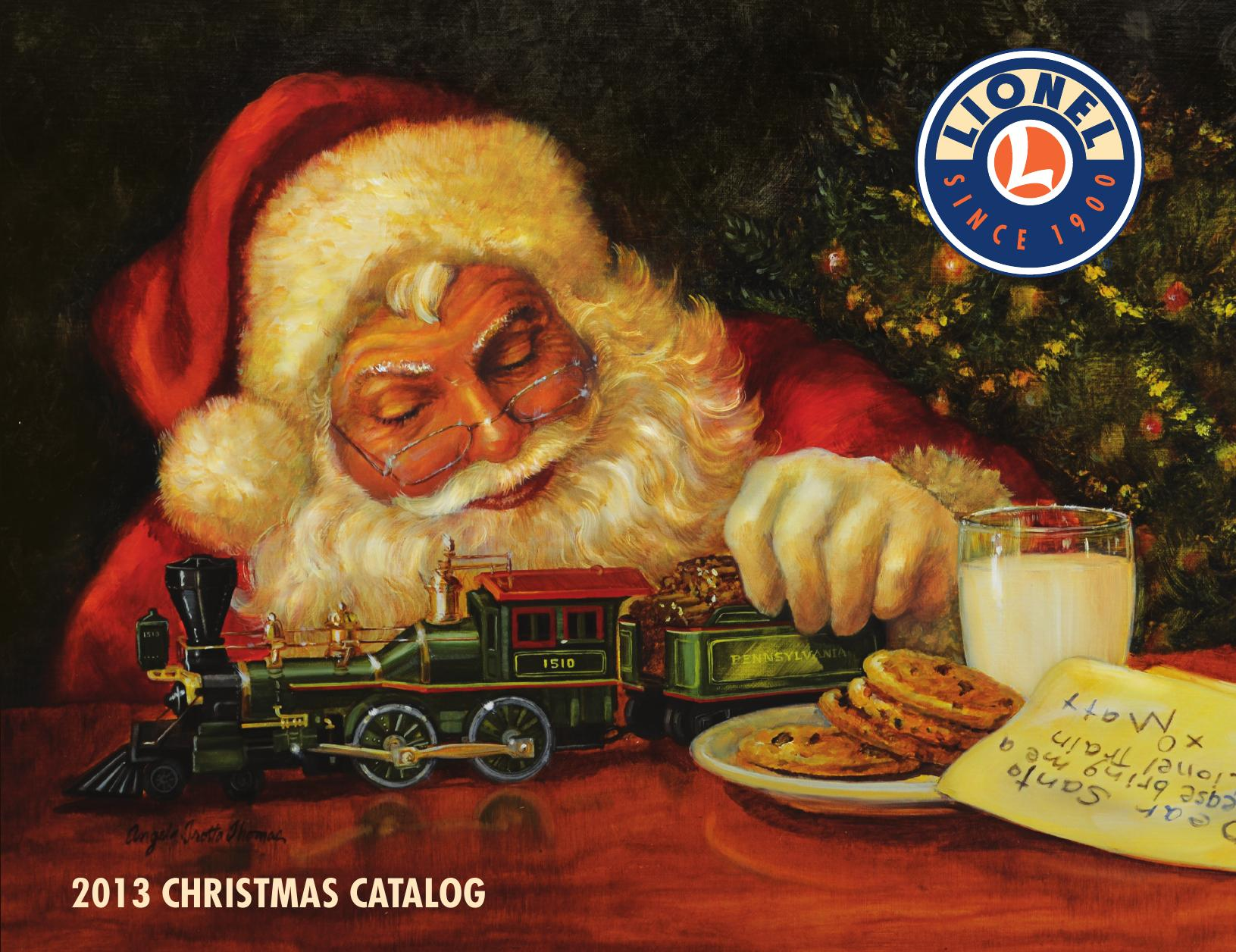 Lionel Catalogs - Christmas 2013