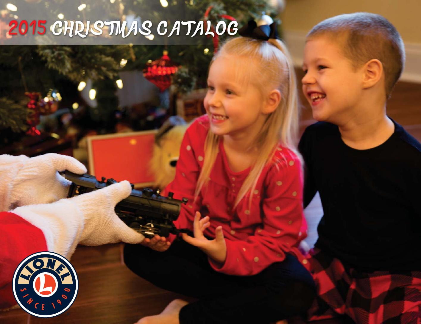 Lionel Catalogs - Christmas 2015