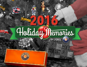 Lionel Catalogs - Holiday Memories 2016