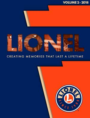 Lionel Catalogs - Volume 2 2018