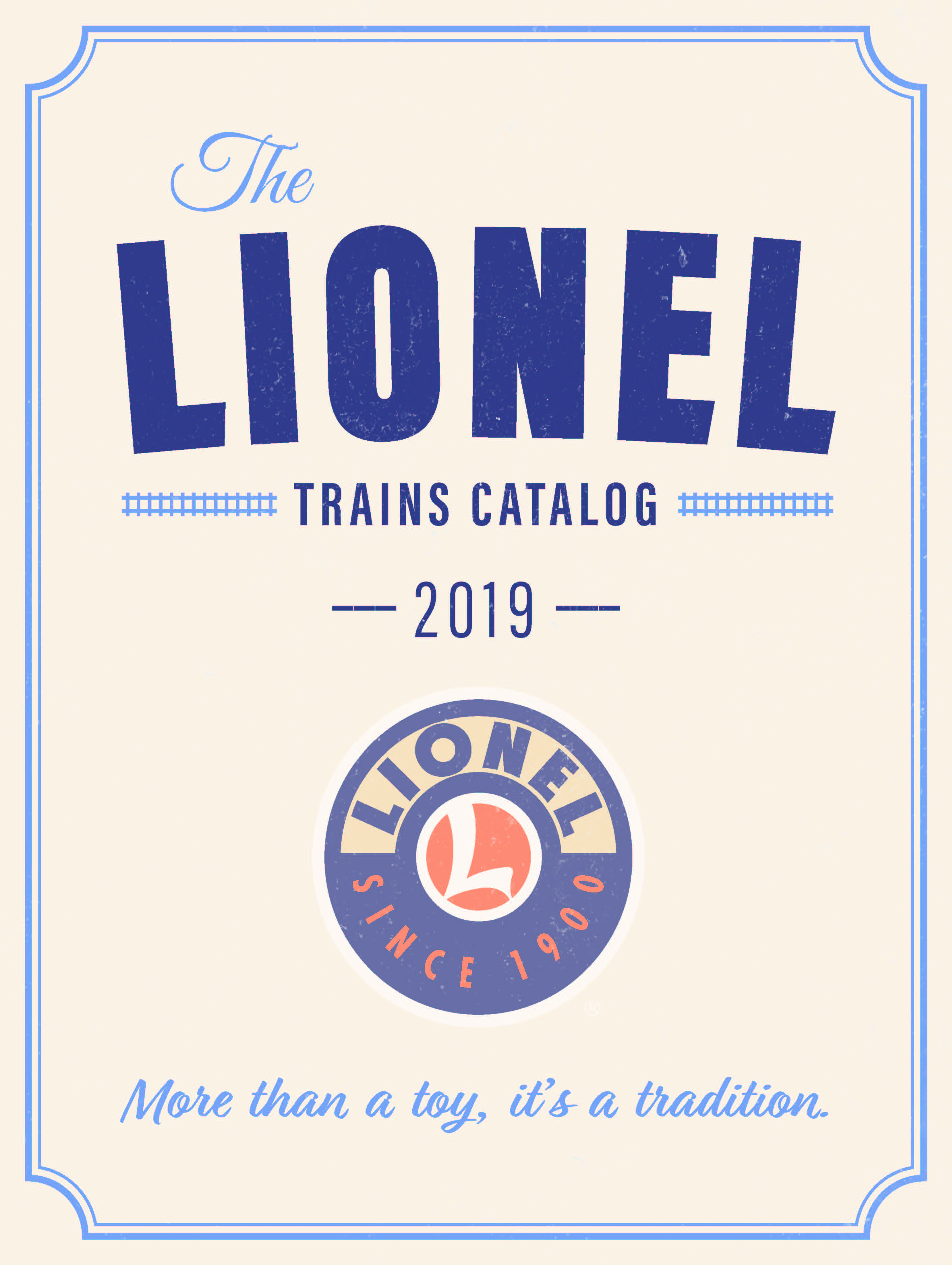 Lionel Catalogs - Big Book 2019