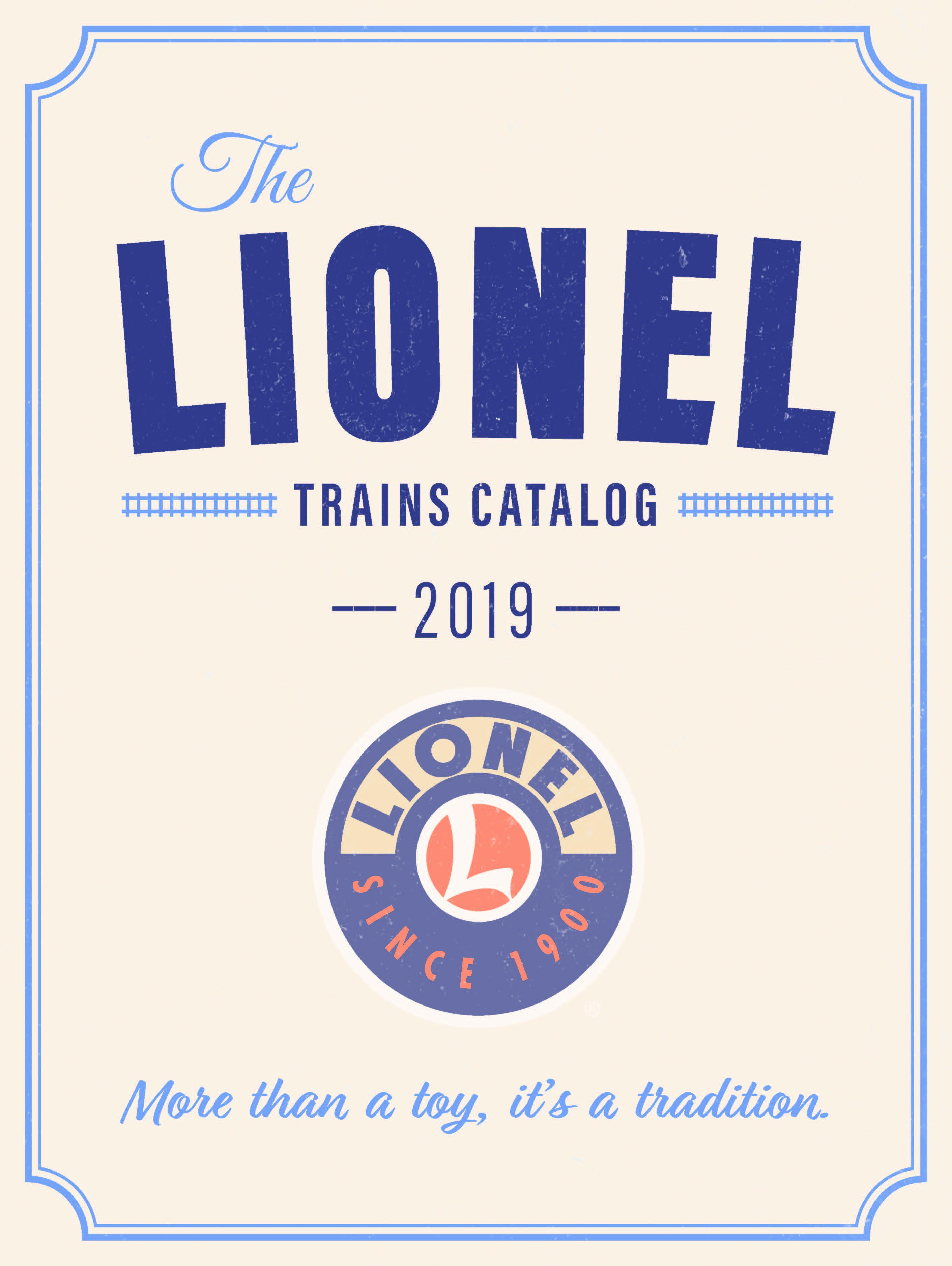 Lionel Catalogs - Big Book 2019