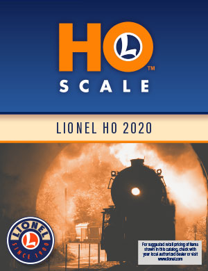 Lionel Catalogs - HO Scale Fall 2020