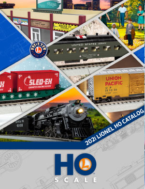 Lionel Catalogs - HO Scale Spring Release 2021