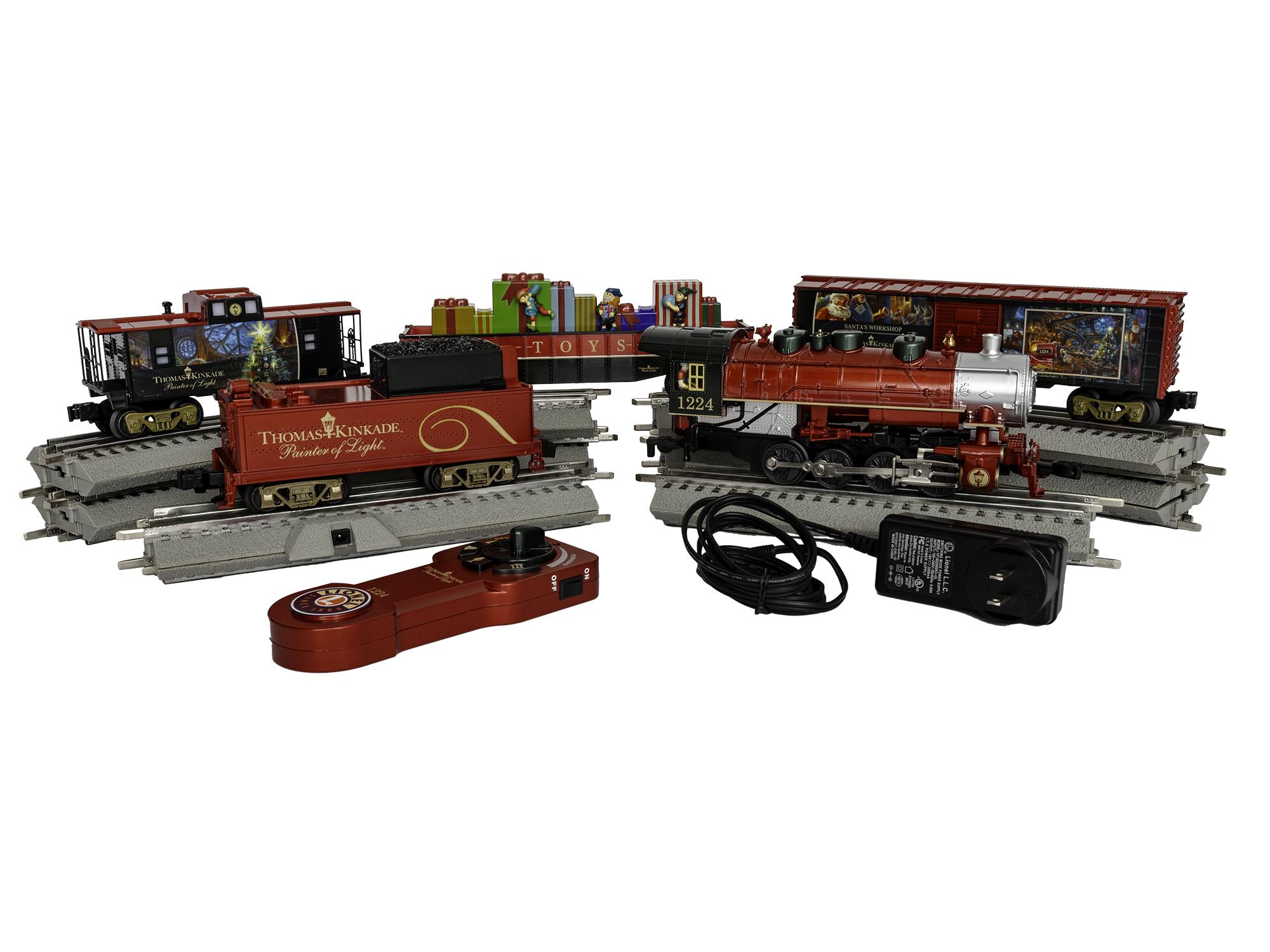 Lionel Thomas Kinkade Electric O Gauge Model Train Set w// Remote and Bluetooth Capability
