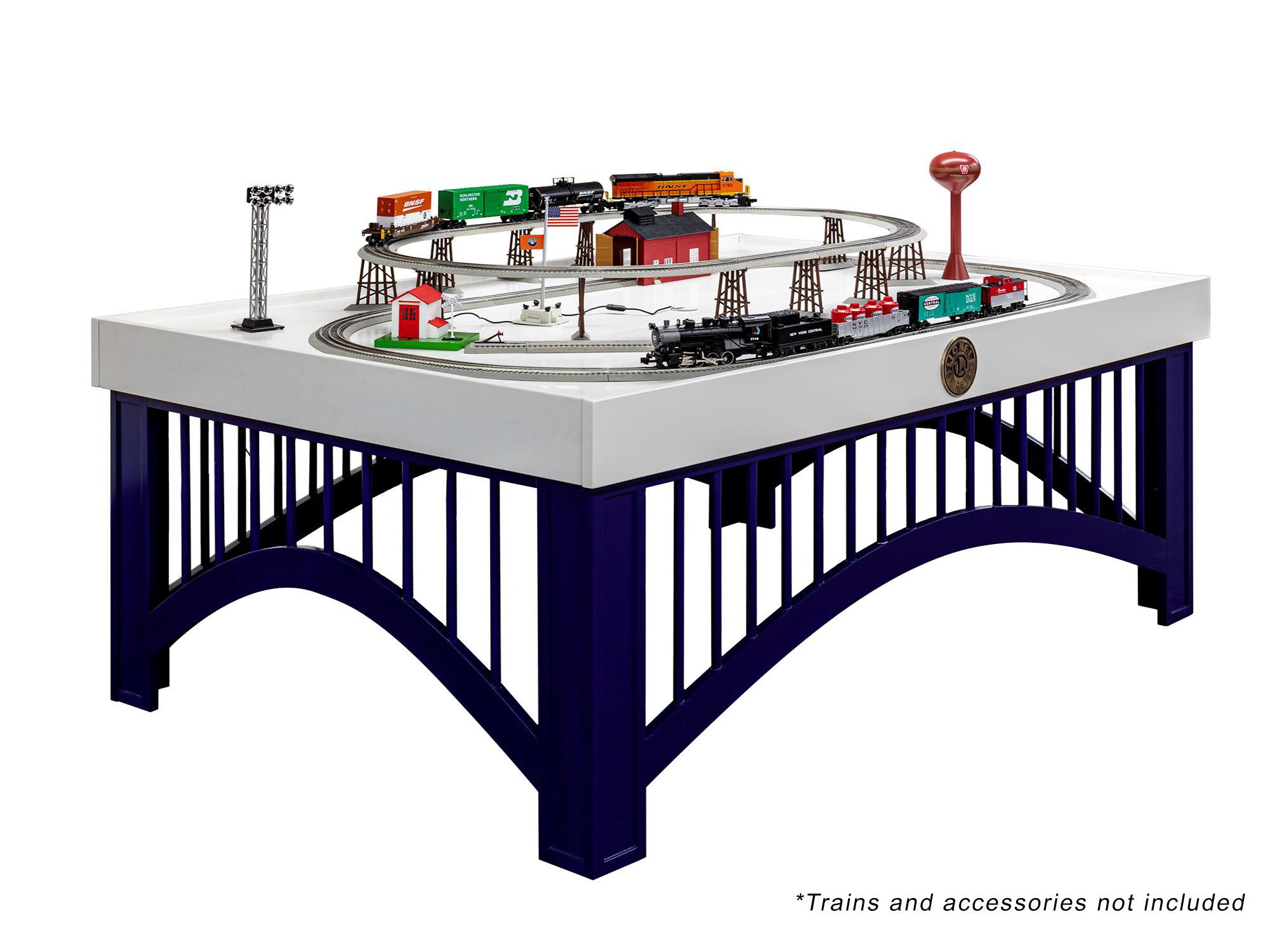 Surprising Lionel Train Table Interior Design Ideas Tzicisoteloinfo