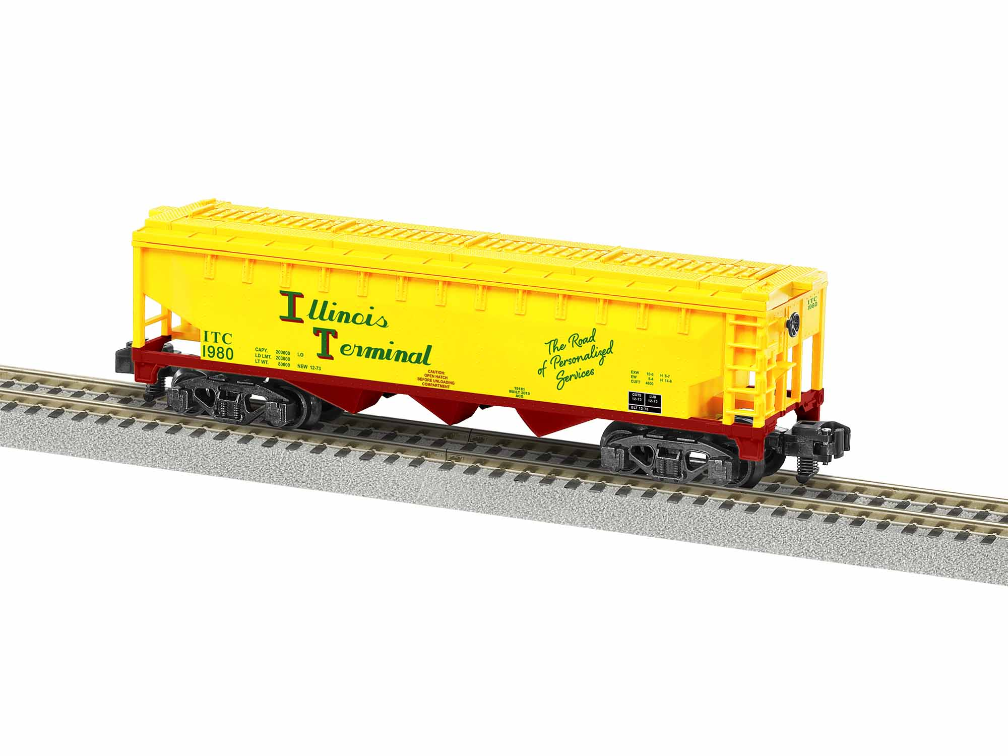 LNL1919182 Lionel S AF 3 Bay Covered Hopper, IT #1980 434-1919182