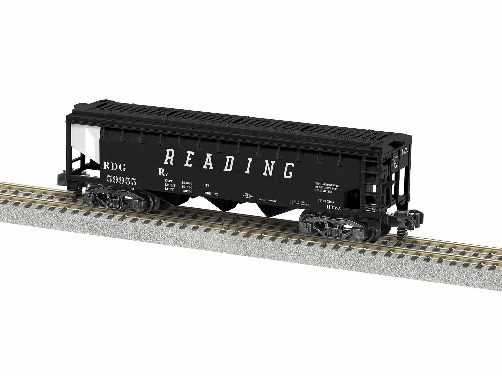 LNL1919201 Lionel S AF 3 Bay Covered Hopper, RDG #59955 434-1919201