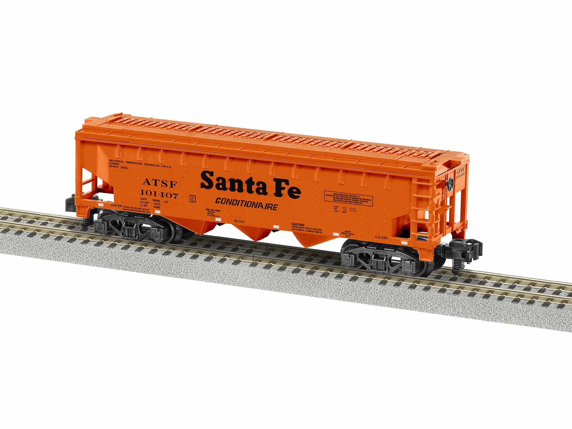 LNL1919211 Lionel S AF 3 Bay Covered Hopper, SF #101407 434-1919211