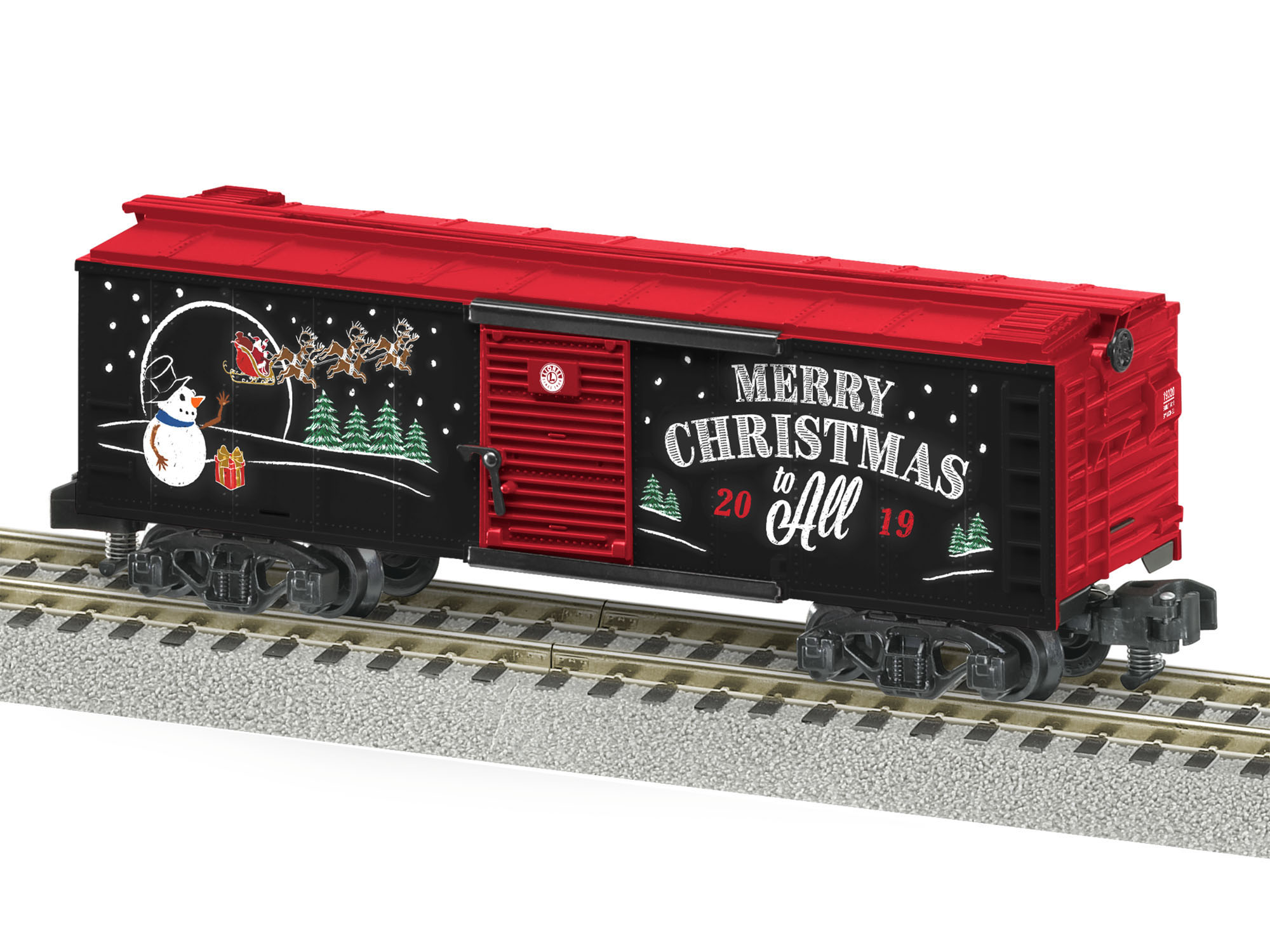 Lionel 1919320 S Boxcar American Flyer 2019 Christmas Car 434-1919320