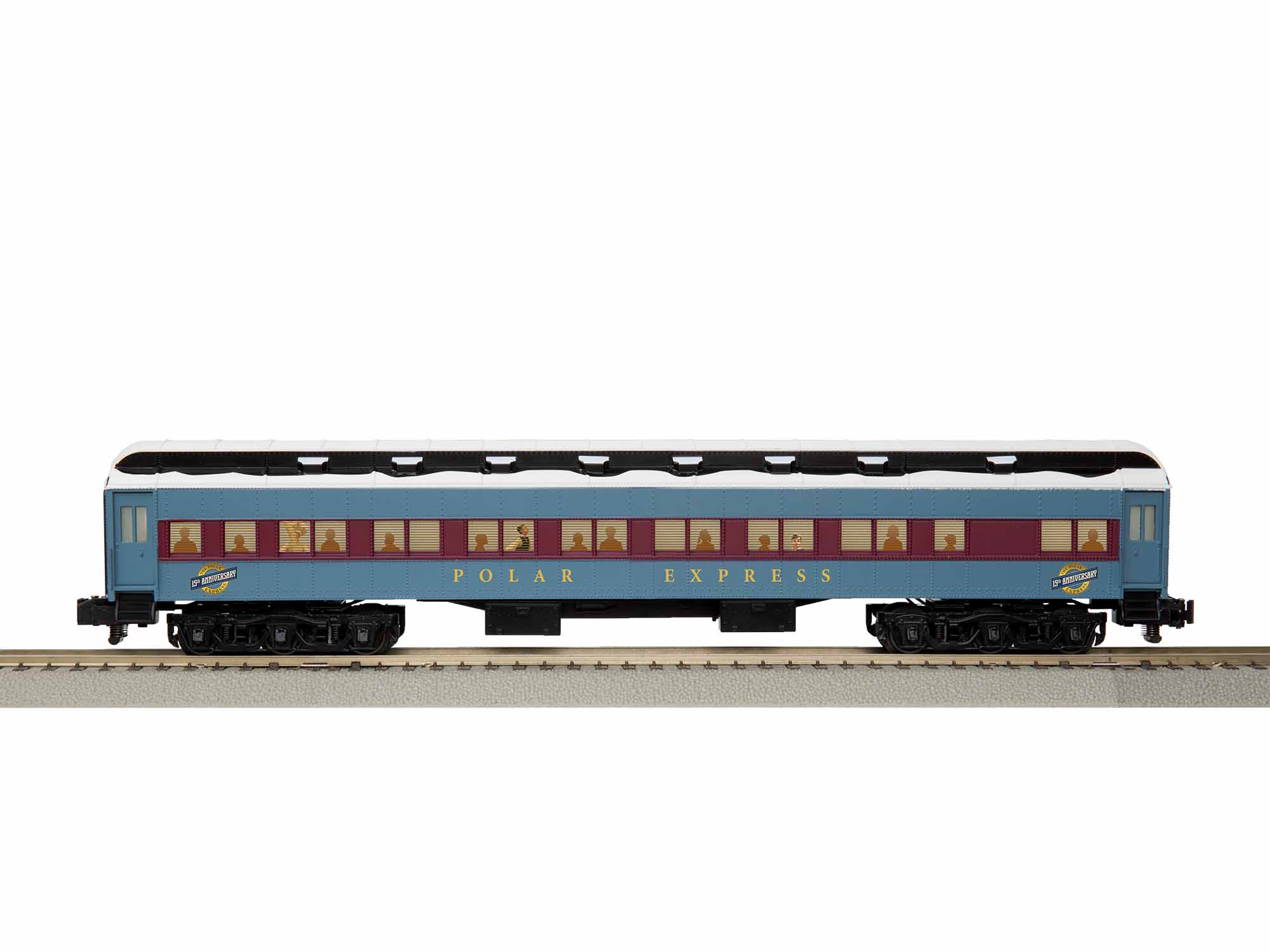 LNL1919400 Lionel S AF 15th Anniversary Coach, Polar Express