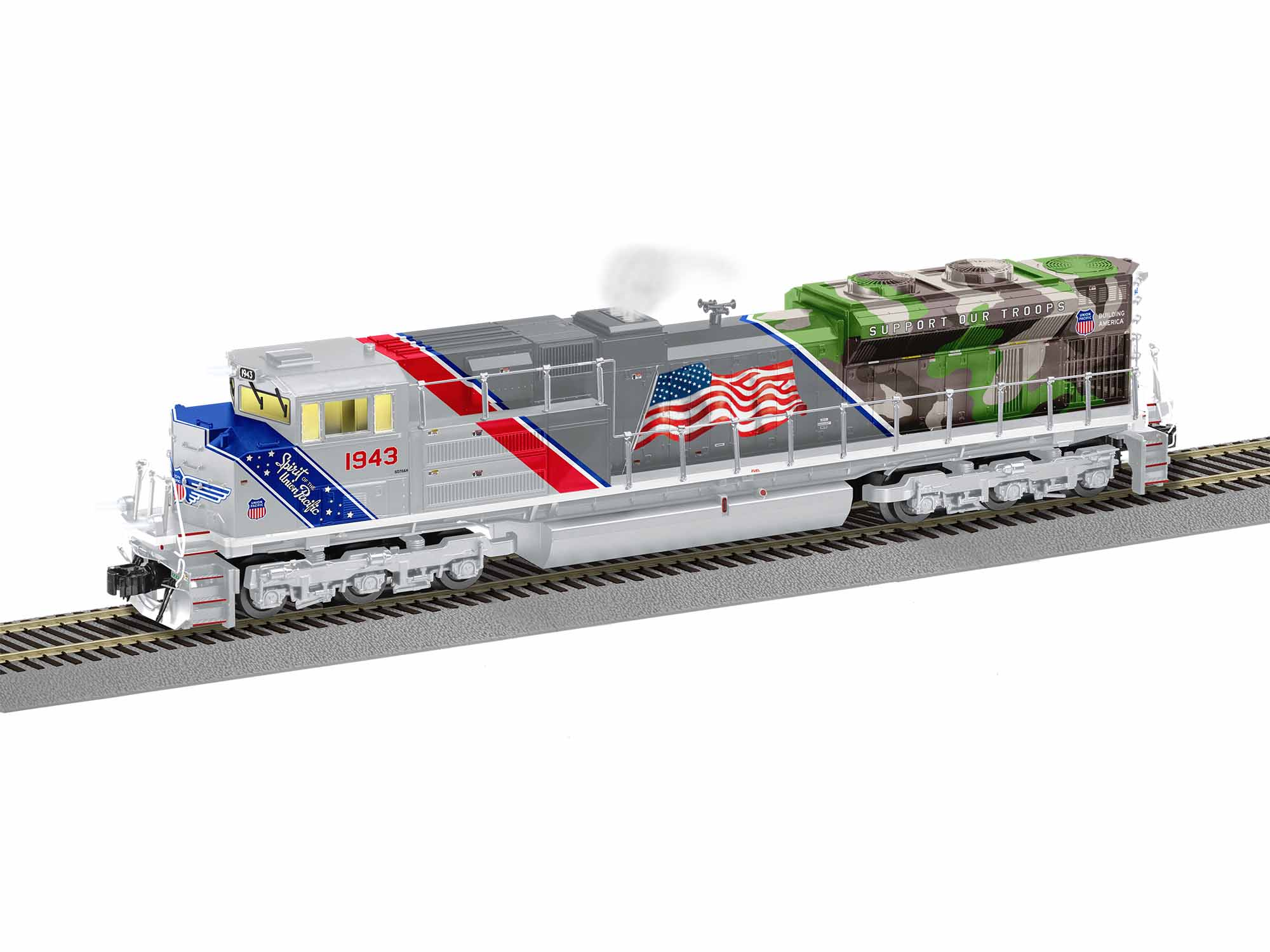 LNL1921130 Lionel S AF SD70ACe w/Legacy, UP/Spirit #1943 434-1921130