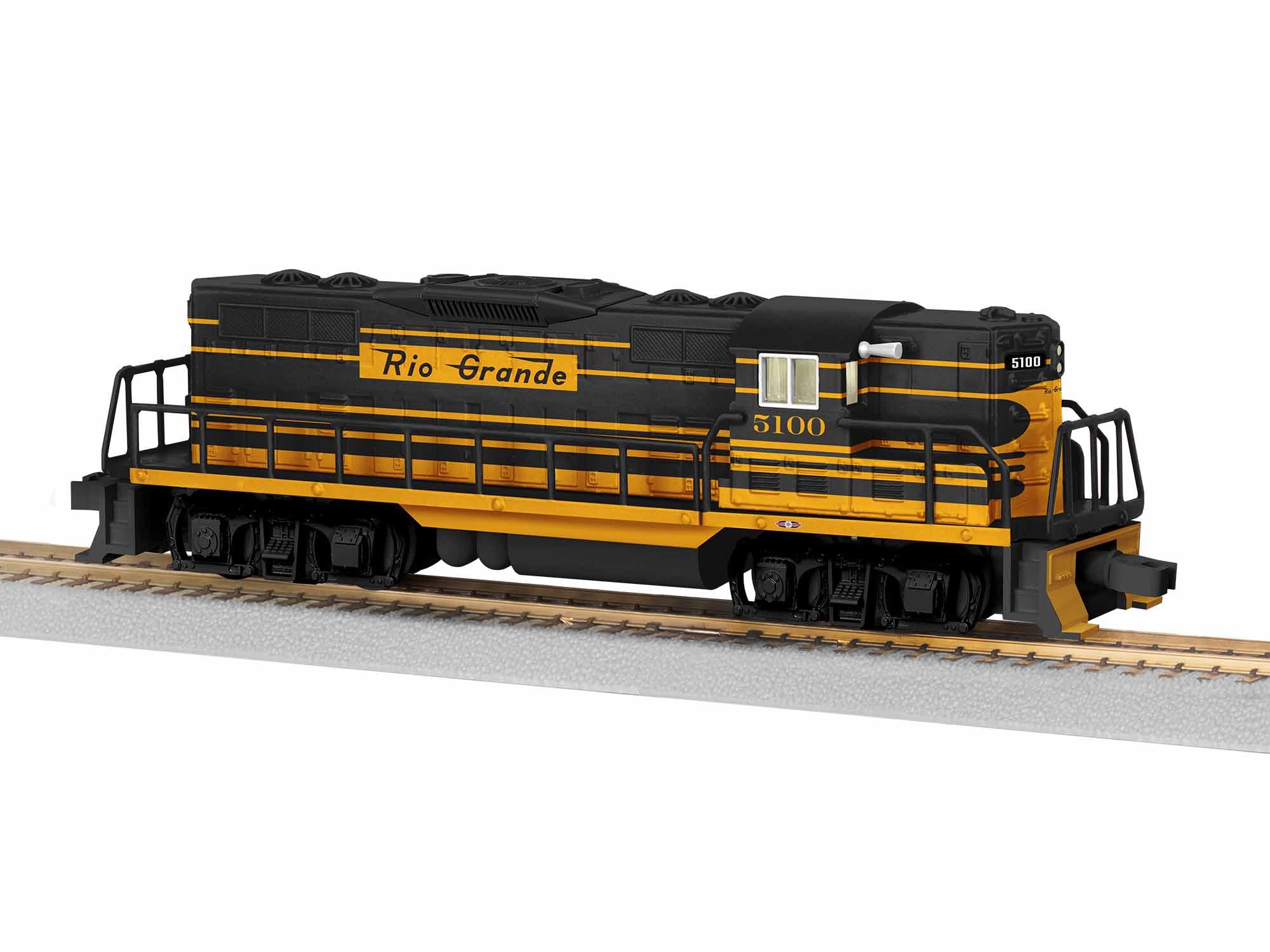 LNL1921180 Lionel S AF GP7, D&RGW #5100