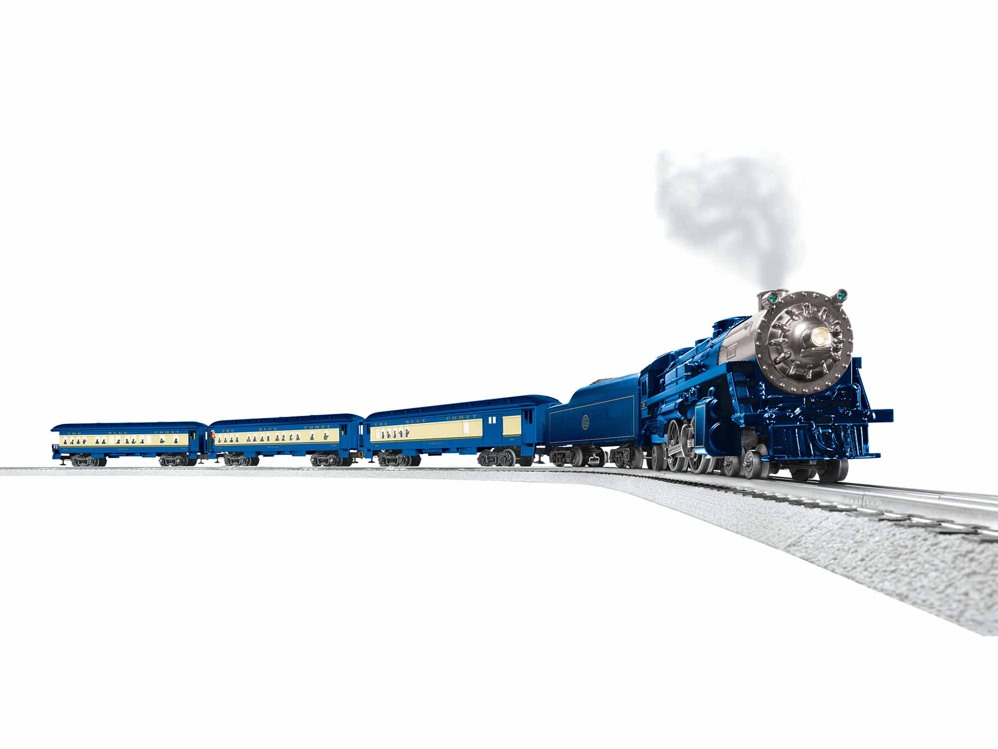 Lionel 1923070 O Comet Steam Passenger Set 3-Rail LionChief Bluetooth Central of New Jersey 4-4-2 434-1923070