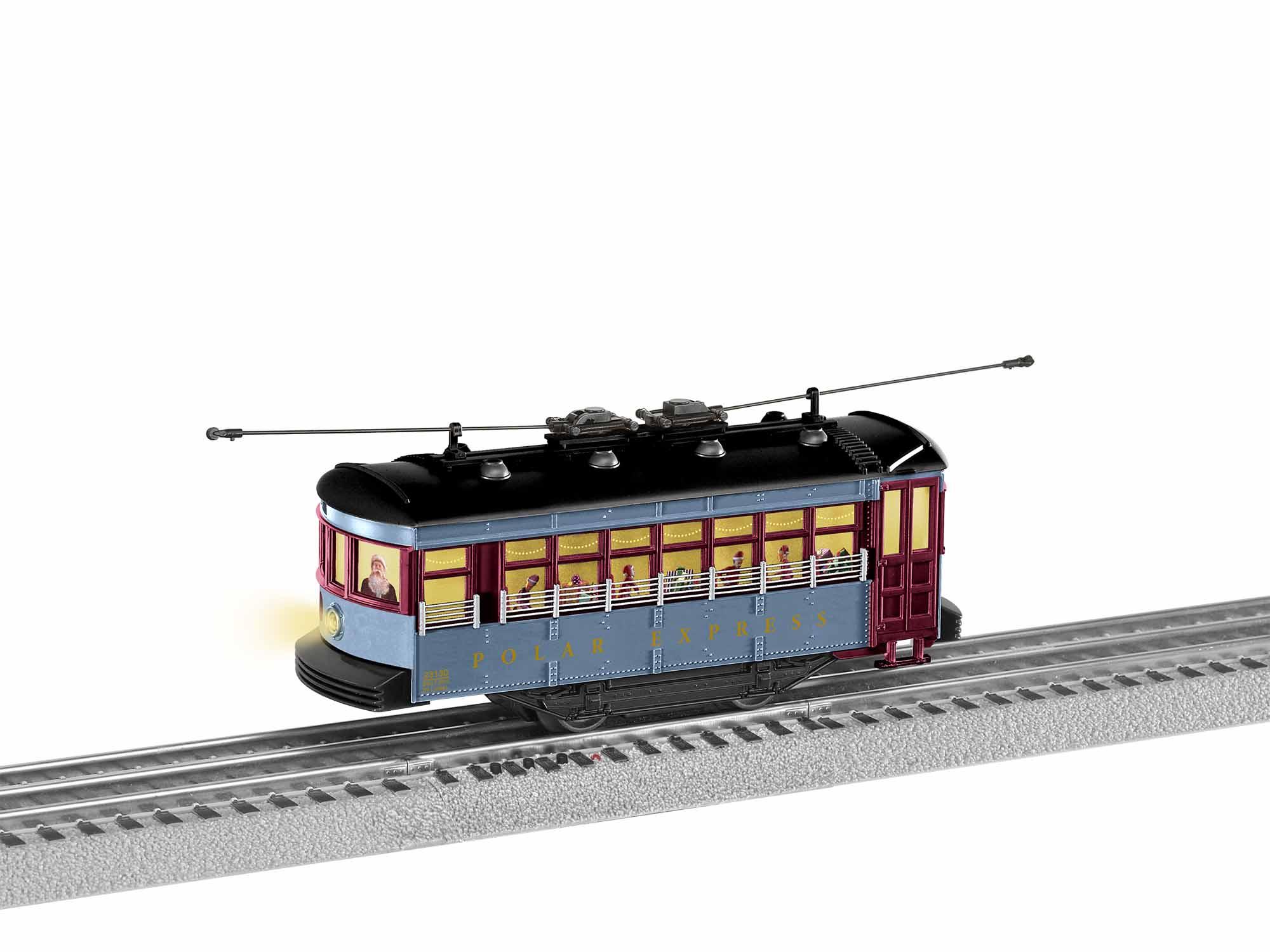 LNL1923130 Lionel O-27 Trolley Set Polar Express