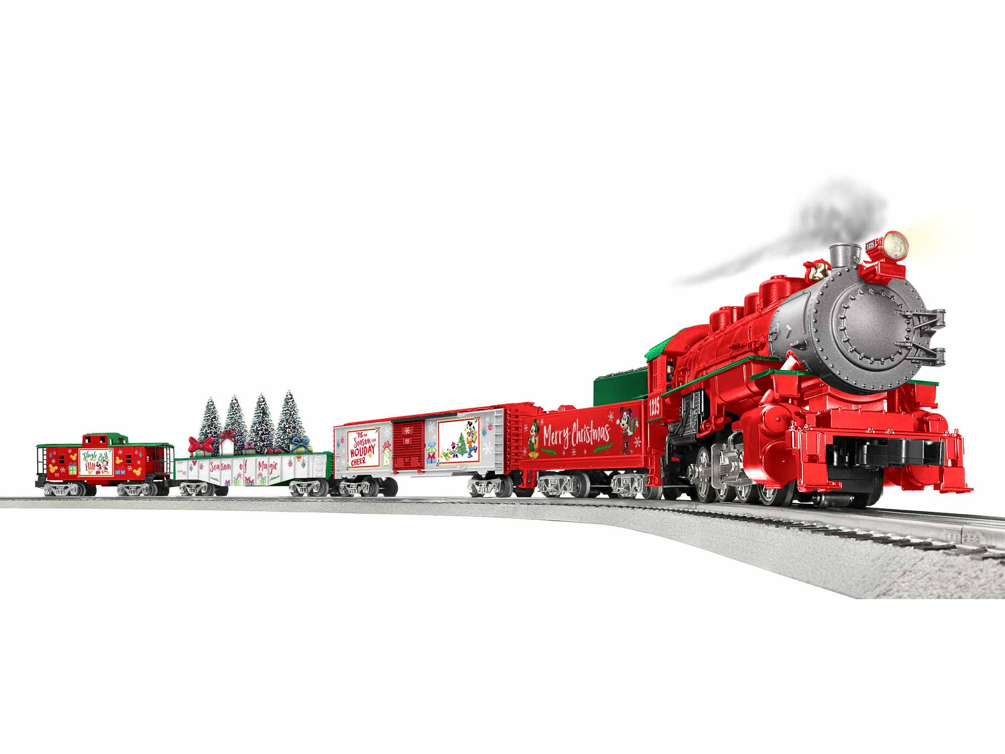 Lionel 1923140 O Disney Christmas Freight Set 3-Rail LionChief Disney