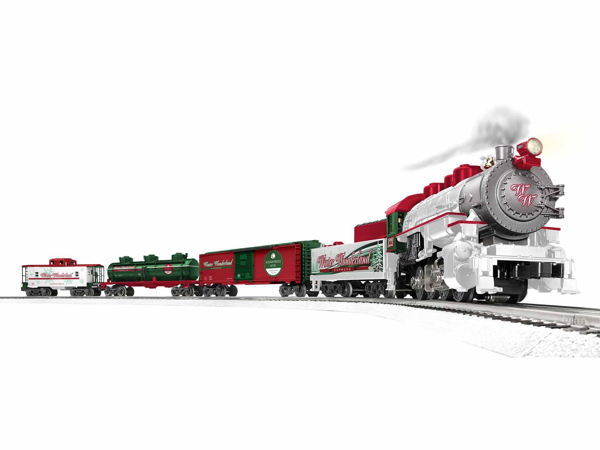 Lionel 1923150 O Winter Wonderland Freight Set 3-Rail LionChief Winter Wonderland Railroad
