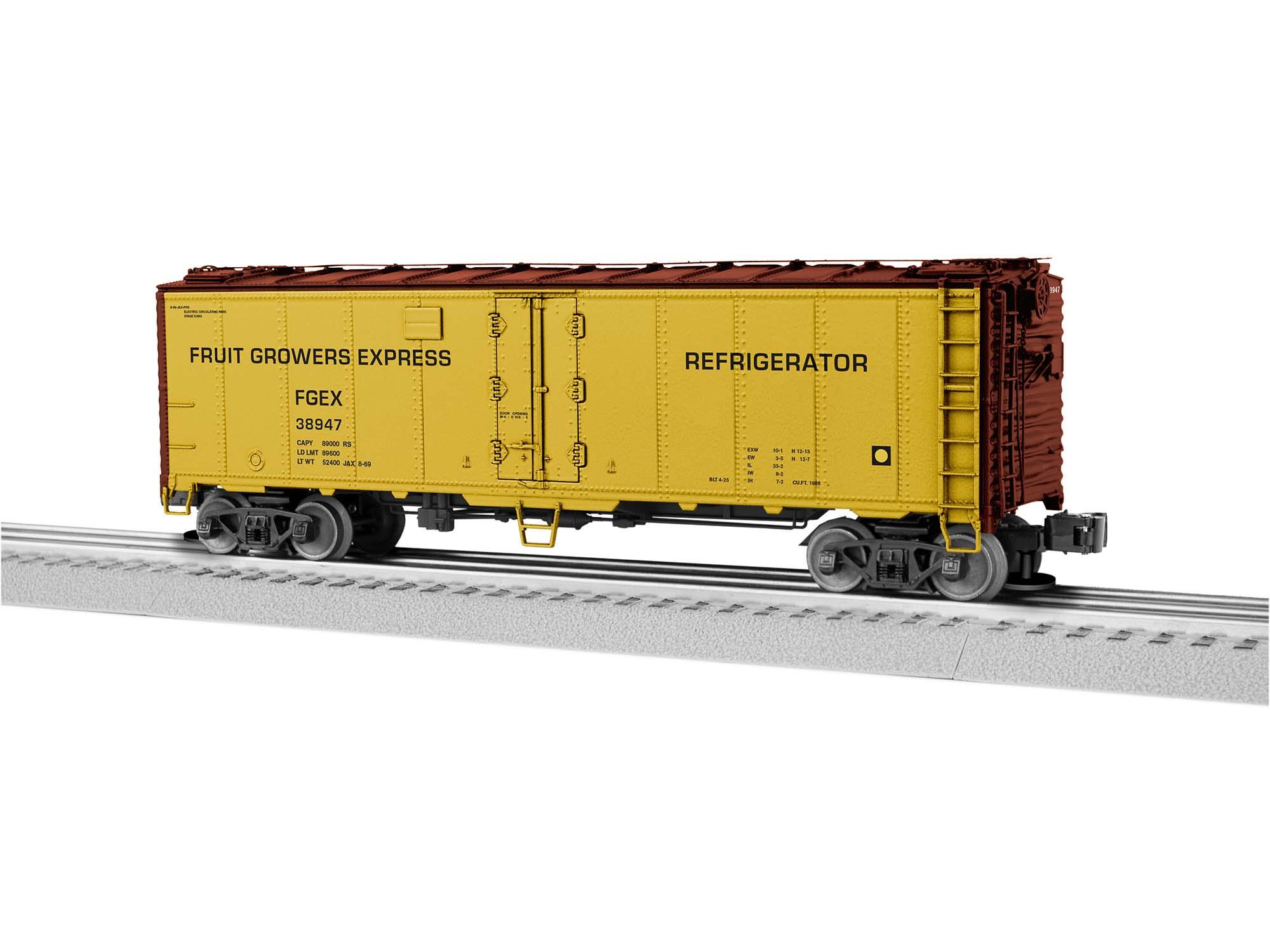 O Reefer w/Freightsound, FGE #38947