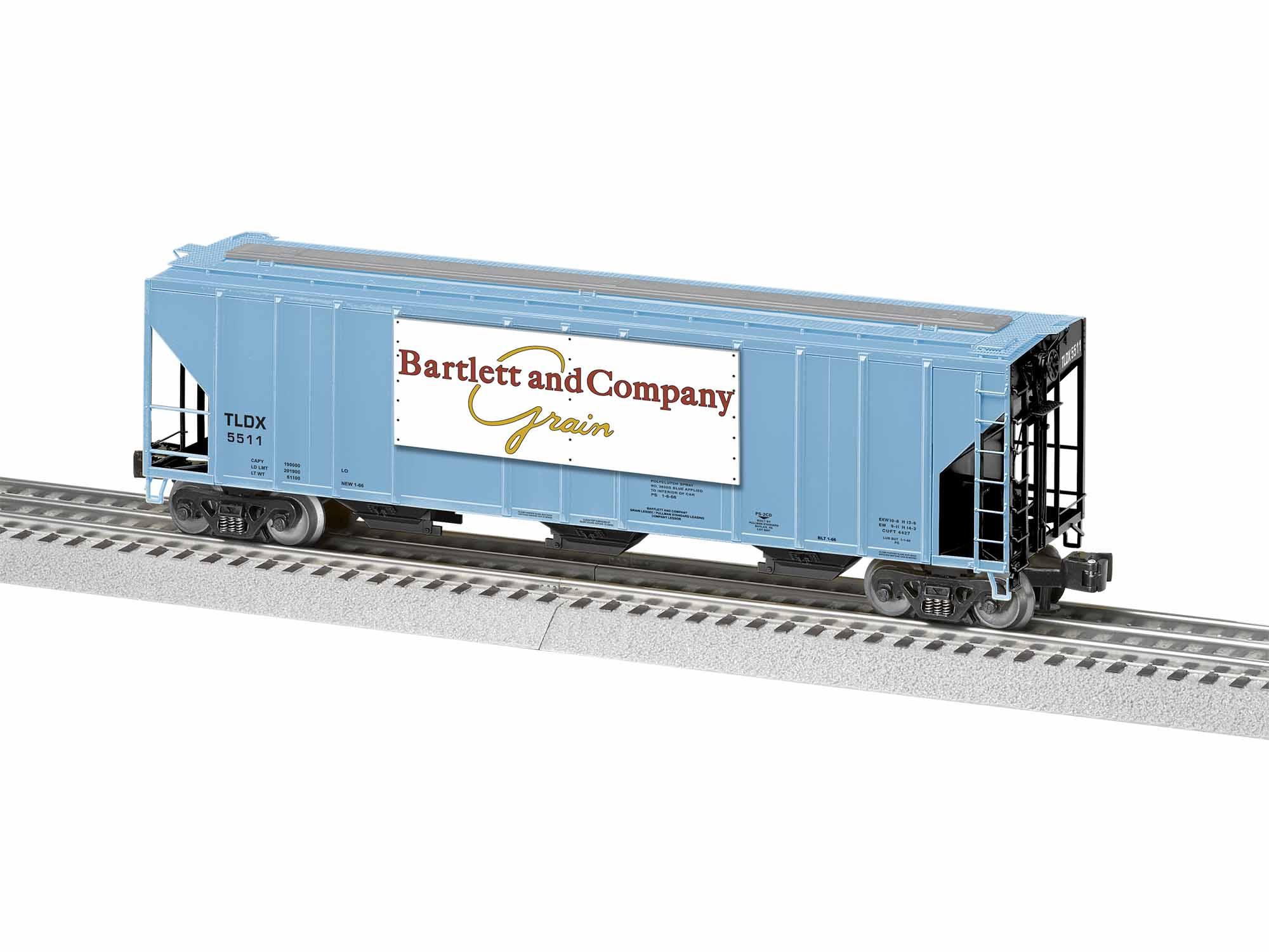 LNL1926502 Lionel O PS-2CD 4427 Covered Hopper, Bartlett Grain #5511