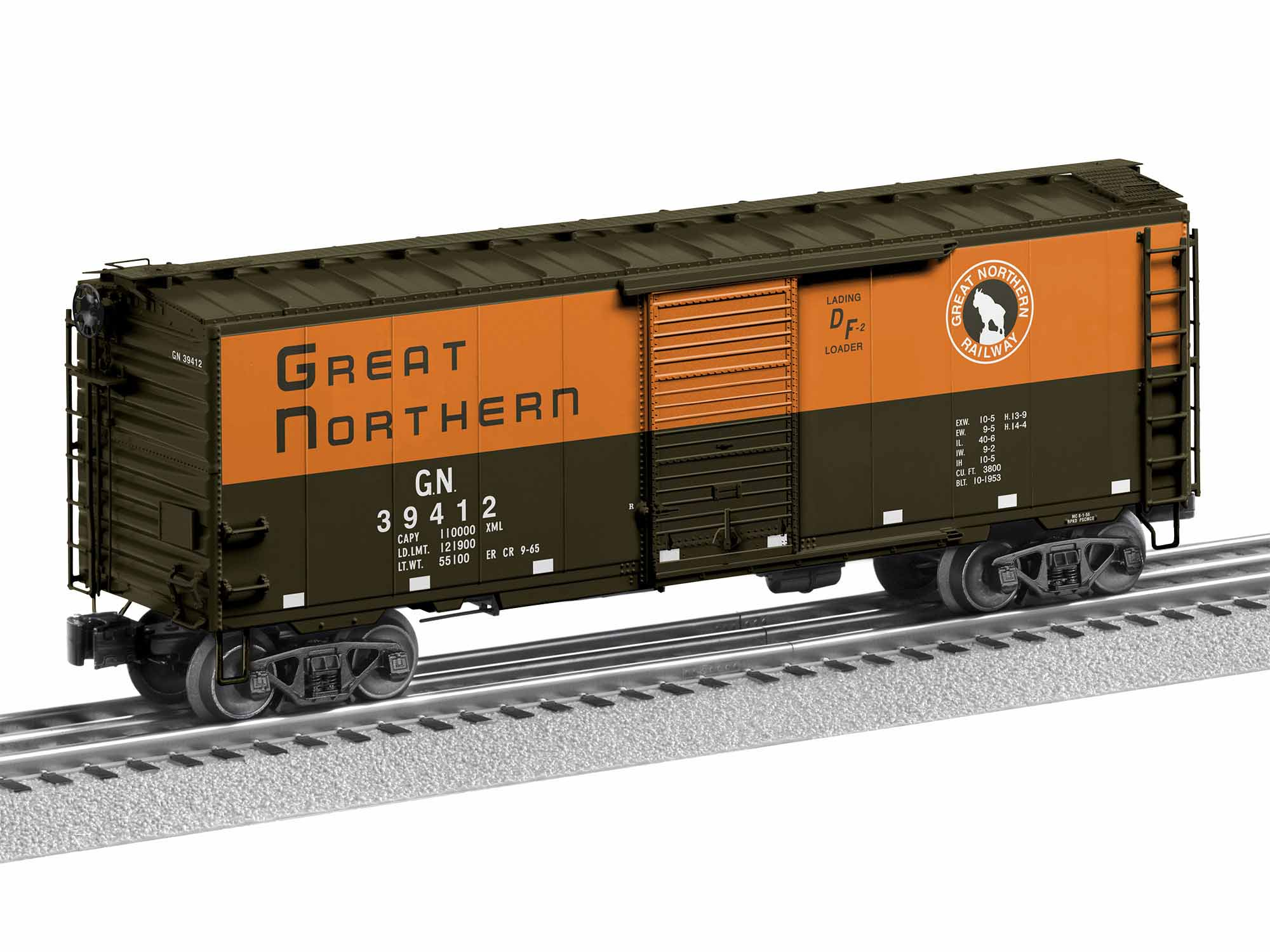 LNL1926630 Lionel O PS-1 Box w/Freight Sound, GN #39412