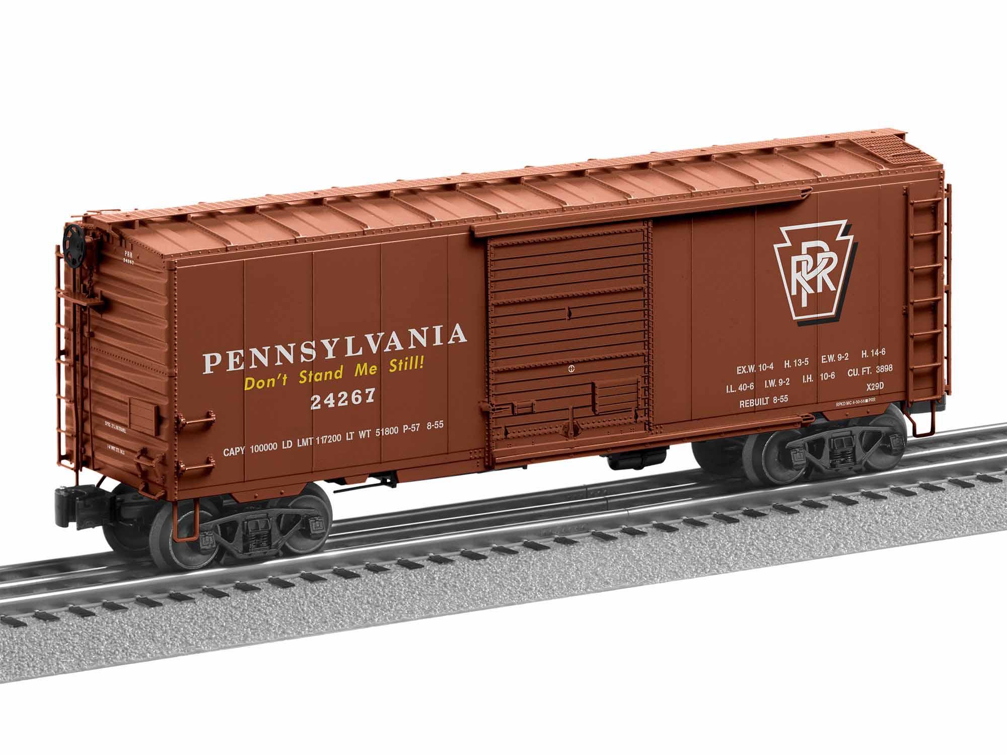 LNL1926640 Lionel O PS-1 Box w/Freight Sound, PRR #24267