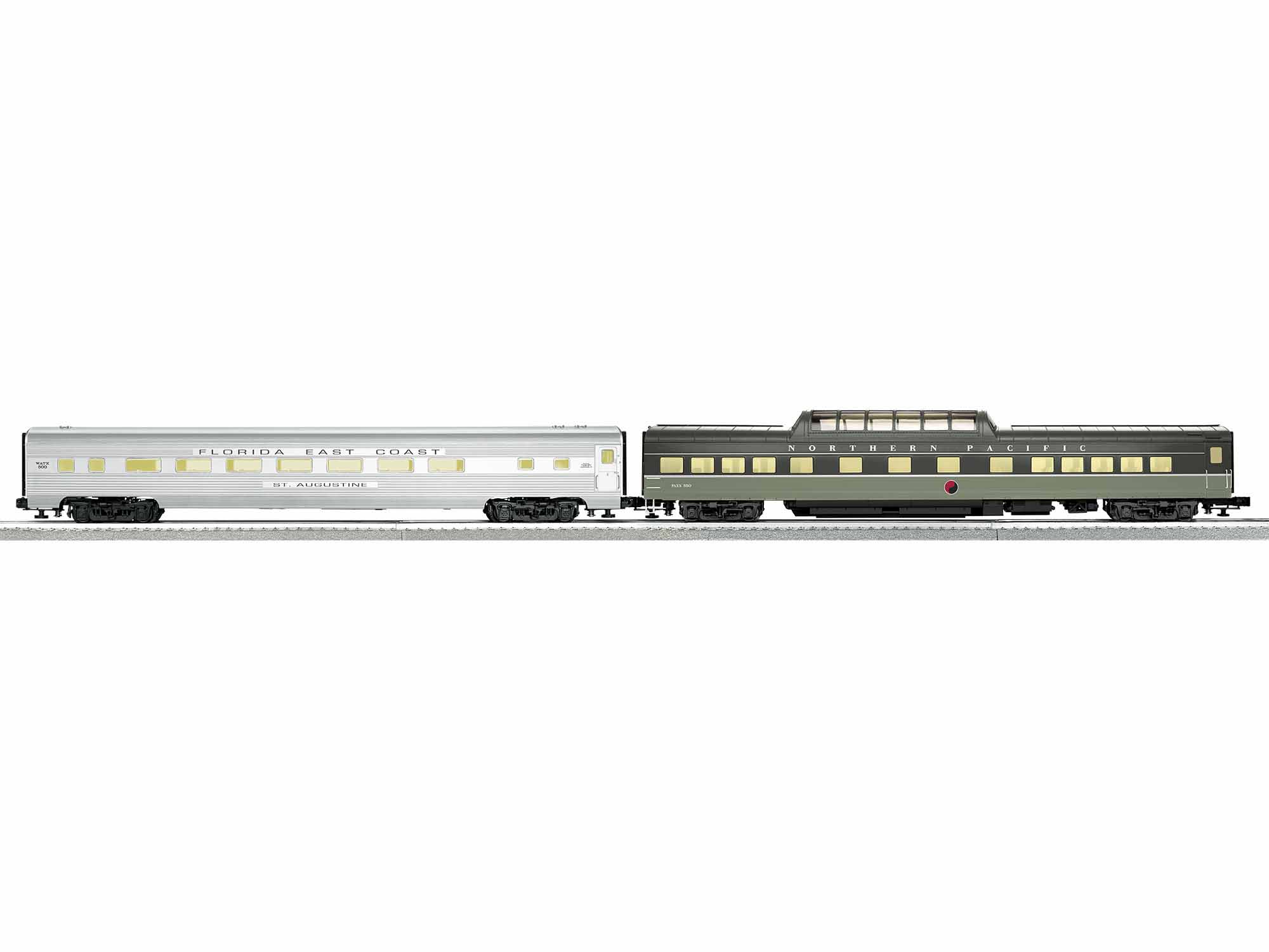 Pack of 2 Lionel 1927220 O Norfolk Southern Excursion Private Car B