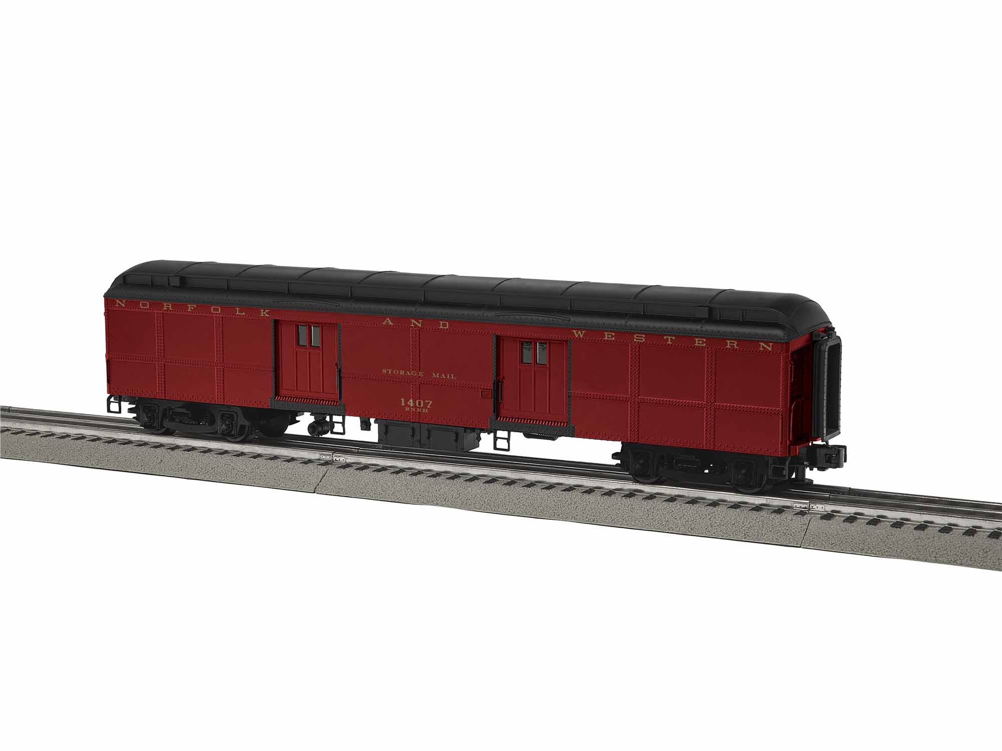 Lionel 1927241 O 611 Excursion Train Tool Car N&W