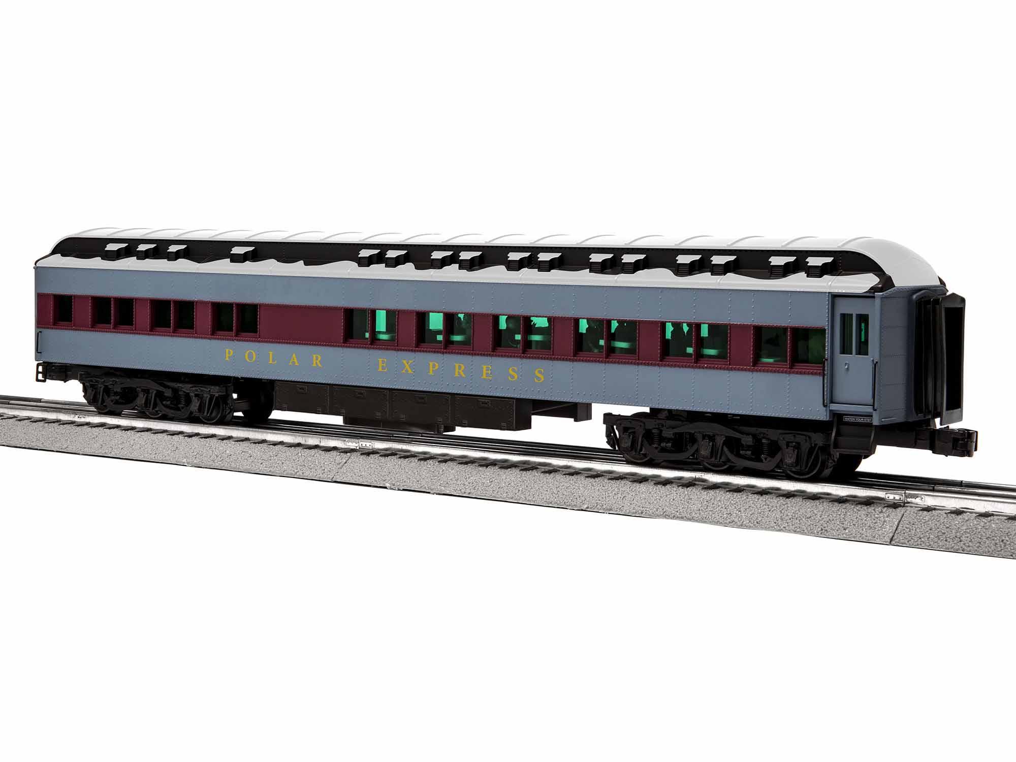 Lionel 1927630 O Hot Chocolate Car 3-Rail w/ Station Sounds Polar Express
