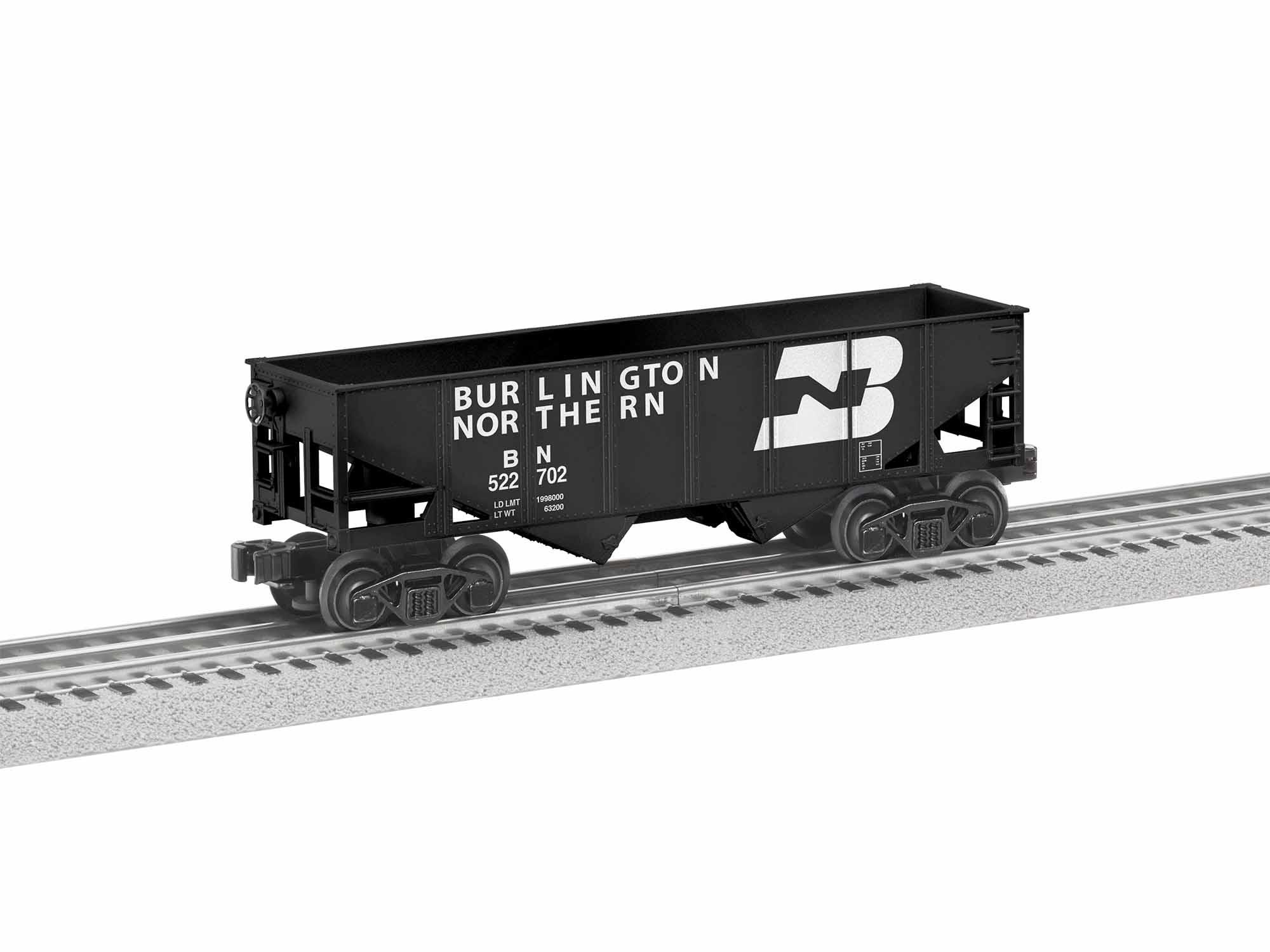 Lionel 1928110 O-27 Hopper Burlington Northern 6