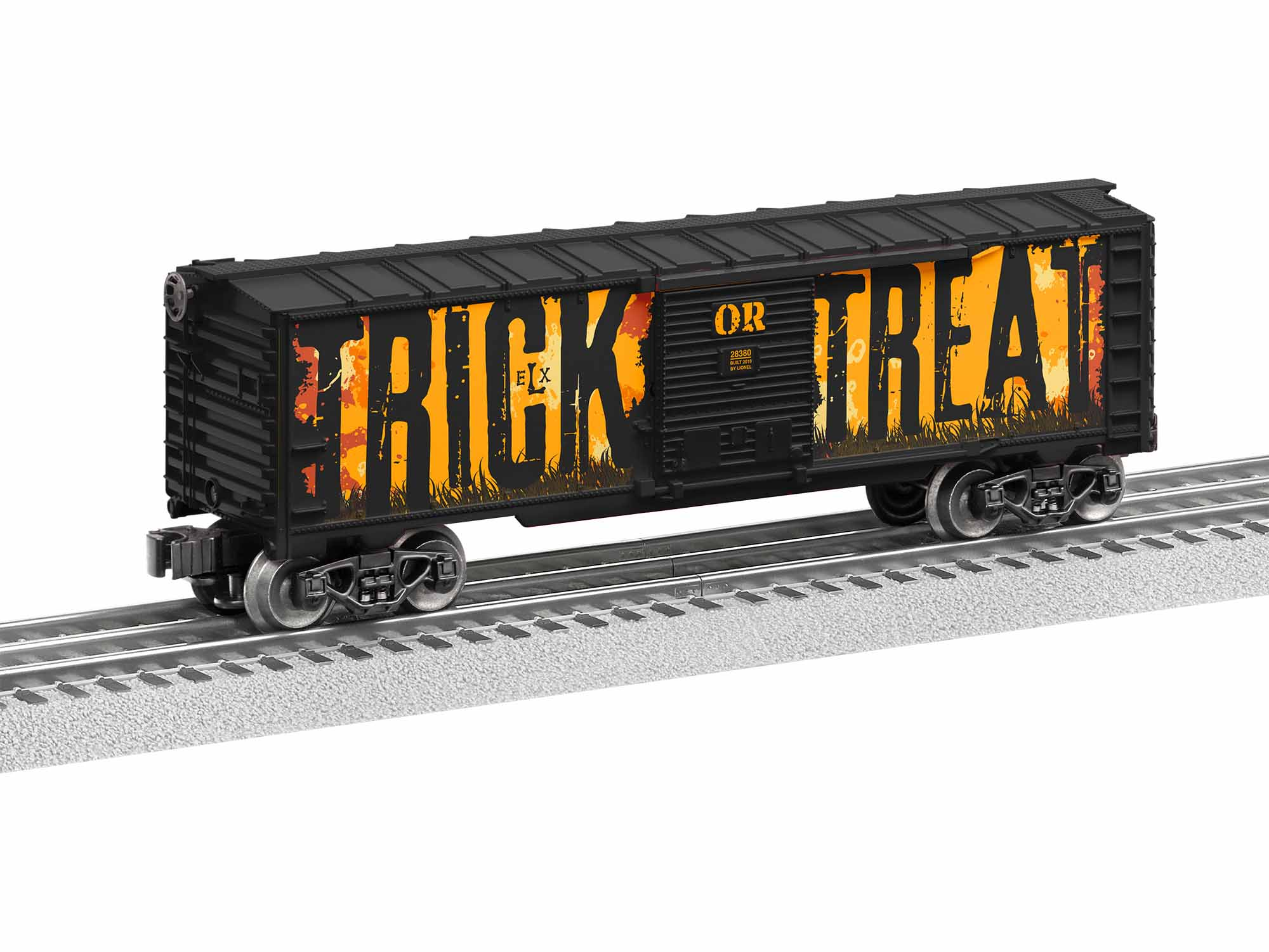 LNL1928380 Lionel O-27 Trick or Treat Halloween Sounds Boxcar
