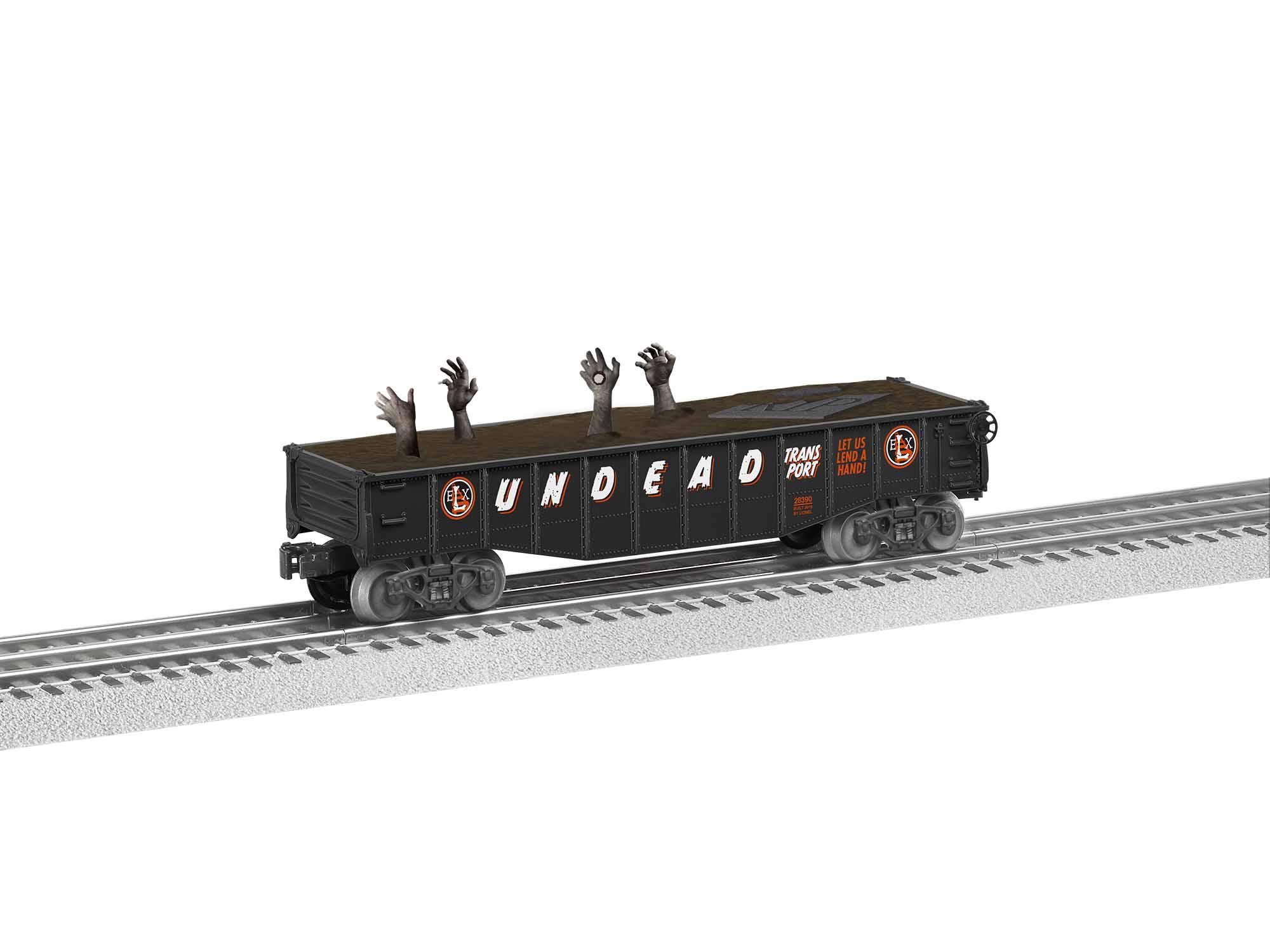 LNL1928390 Lionel O-27 Undead Gondola