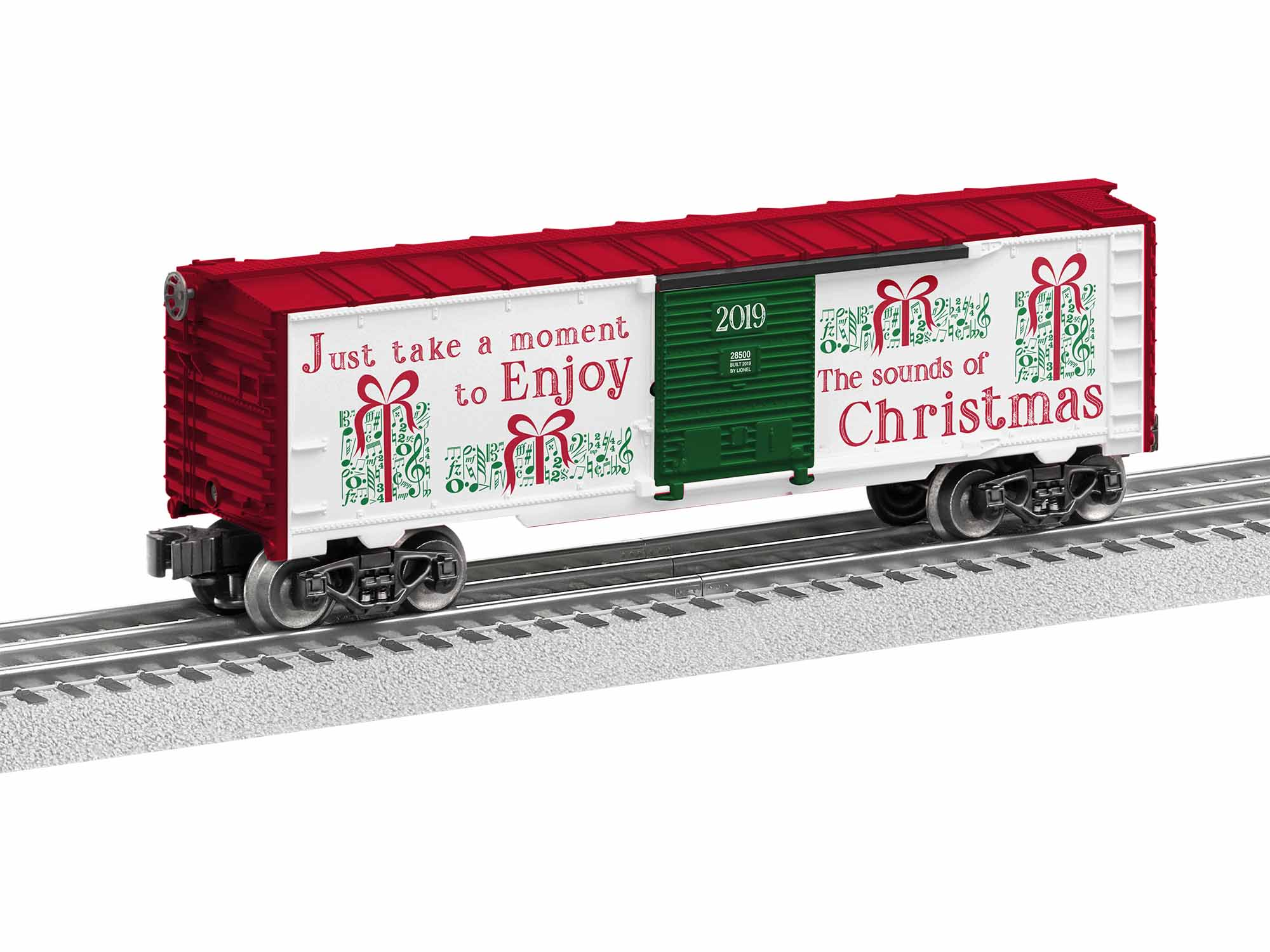 Lionel 1928500 O-27 Christmas Music Boxcar