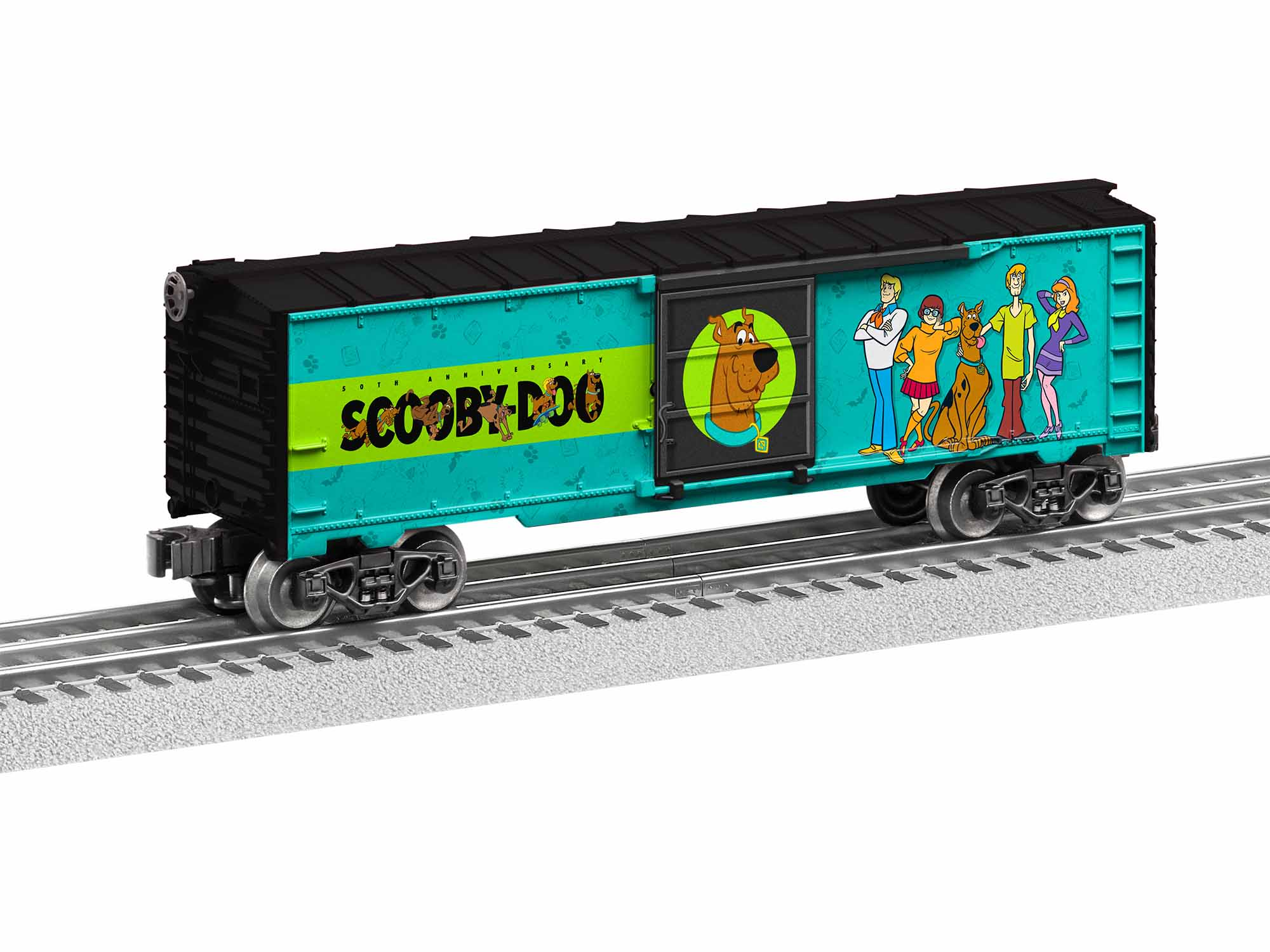 LNL1928590 Lionel O-27 Happy Birthday Scooby Doo Sound Car