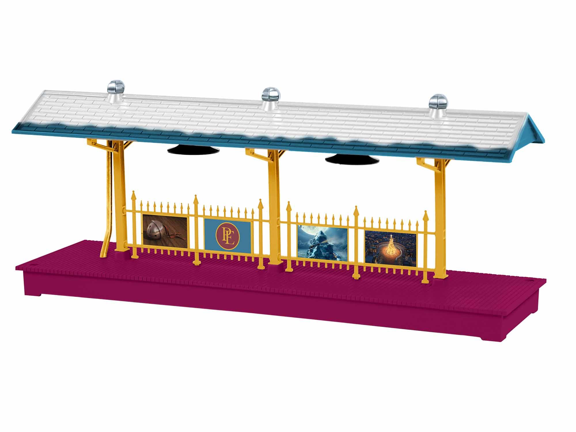 Lionel 1929060 O-27 Polar Express Station Platform