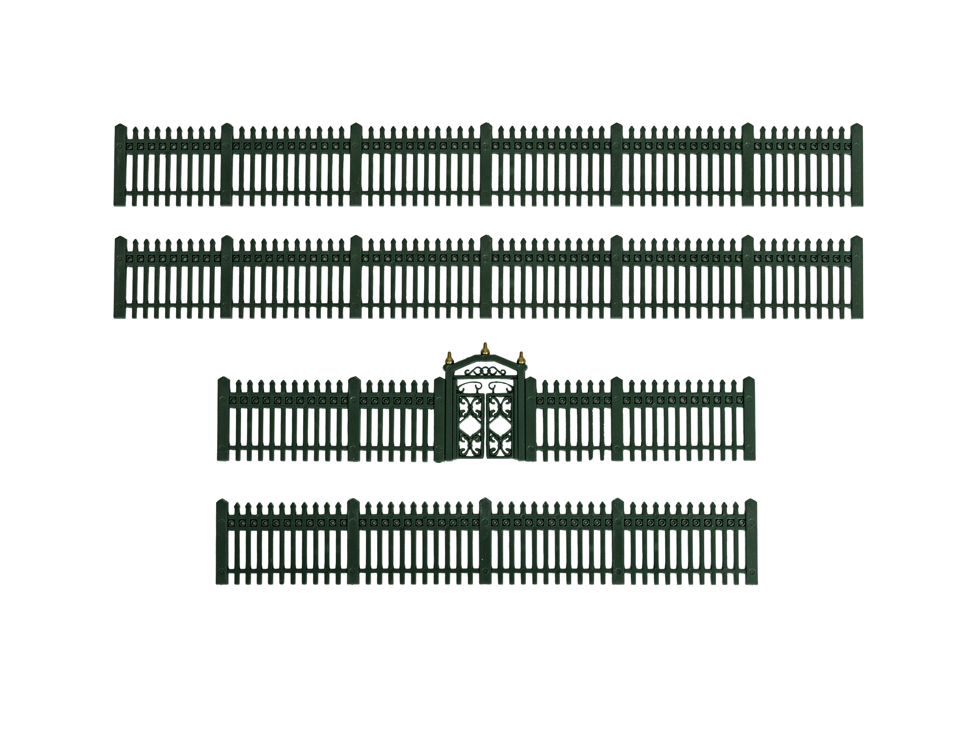 Lionel 1930170 O Green Iron Fence