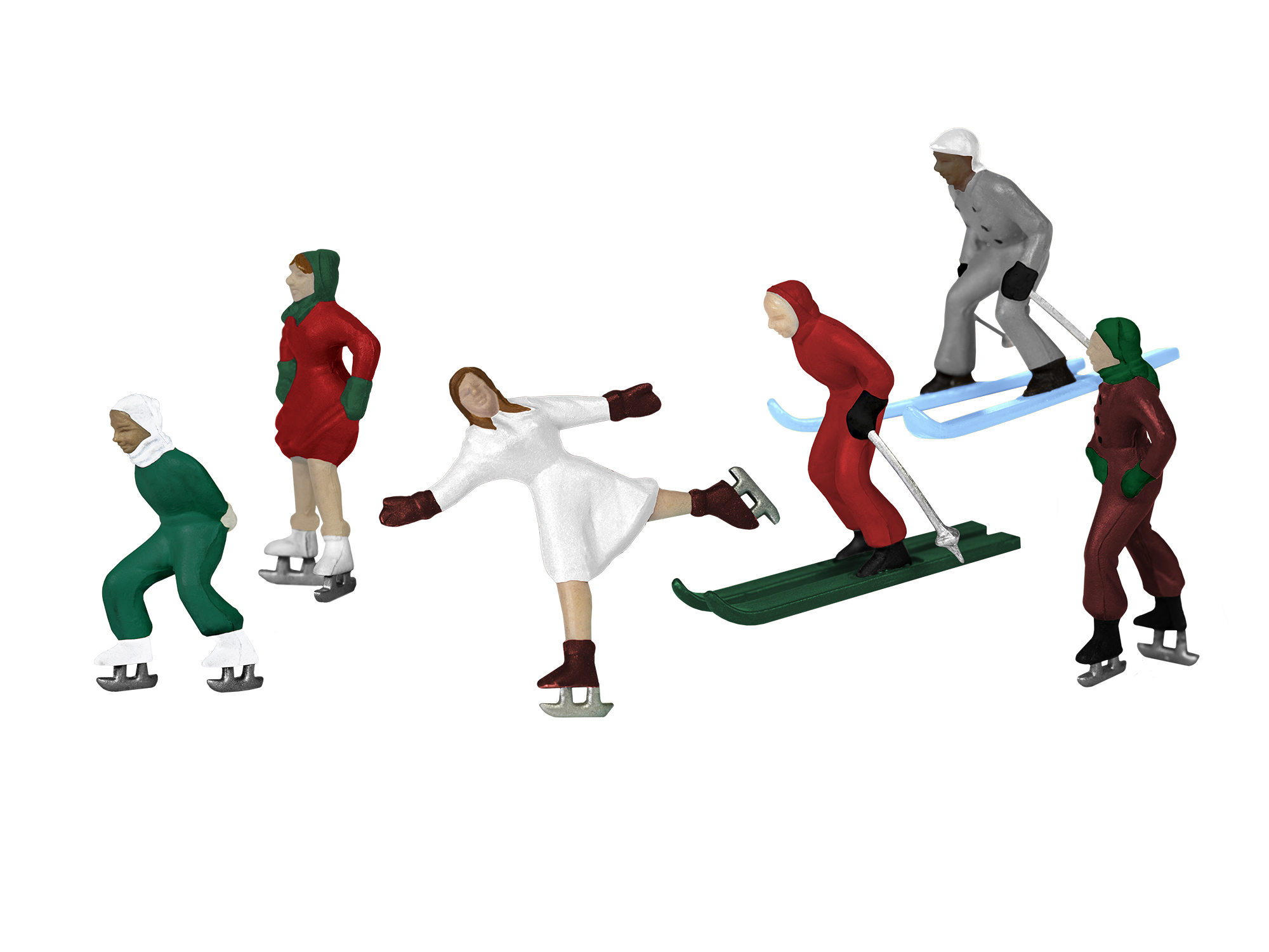Lionel 1930200 O Winter Action Figures 6-Pack