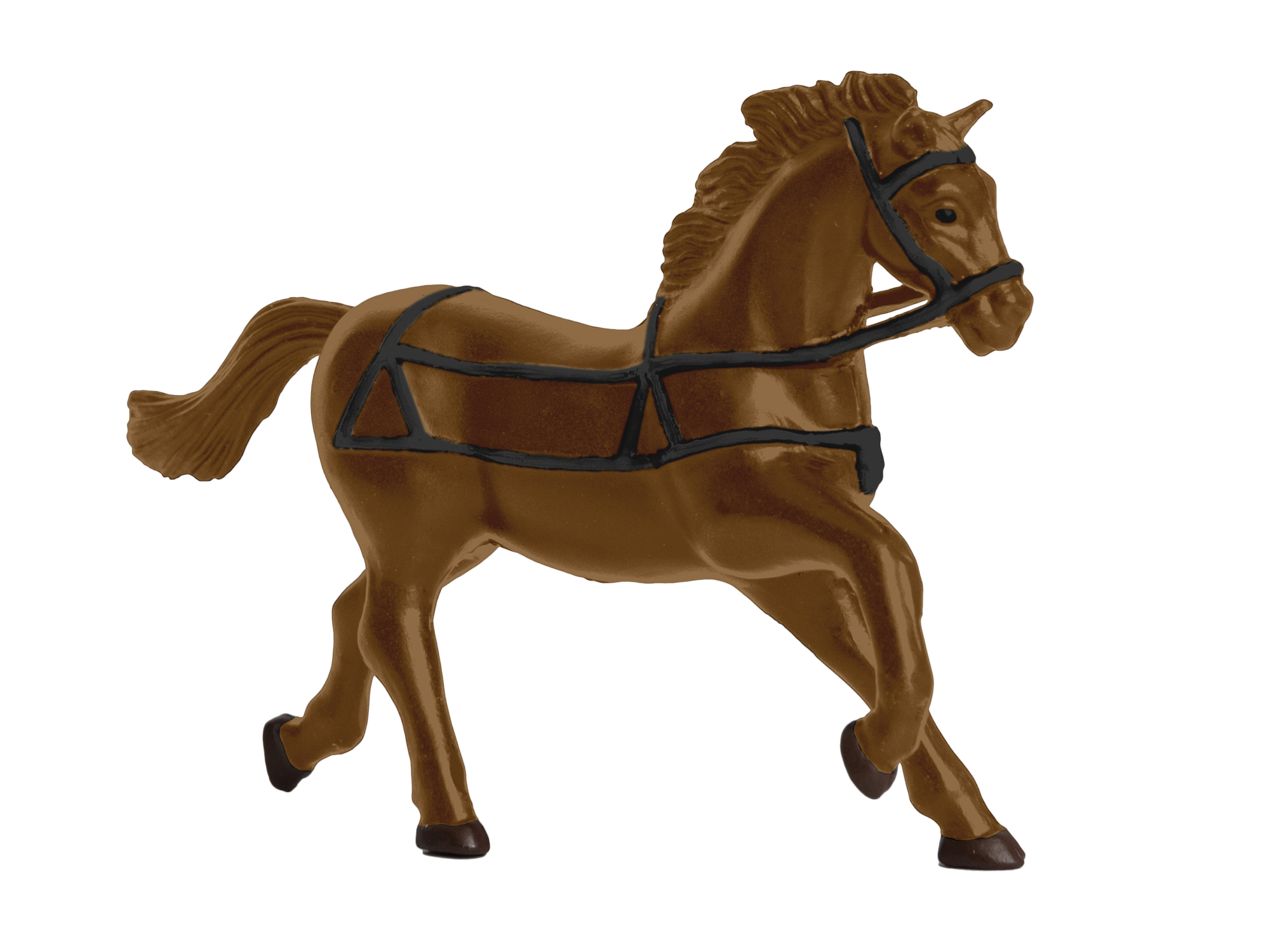Lionel 1930280 O Horses 4-Pack