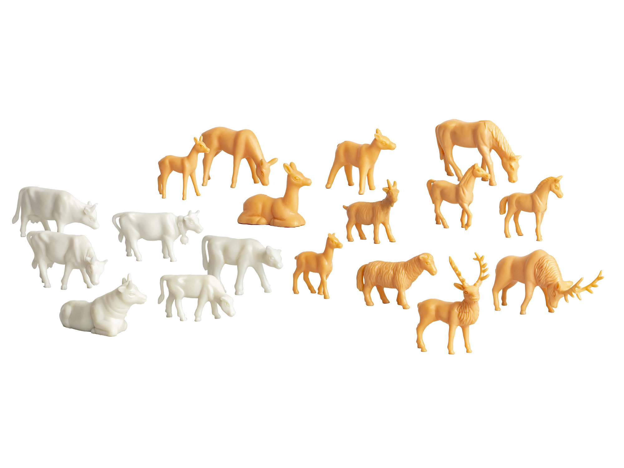 Lionel 1930310 O Unpainted Animals 36-Pack