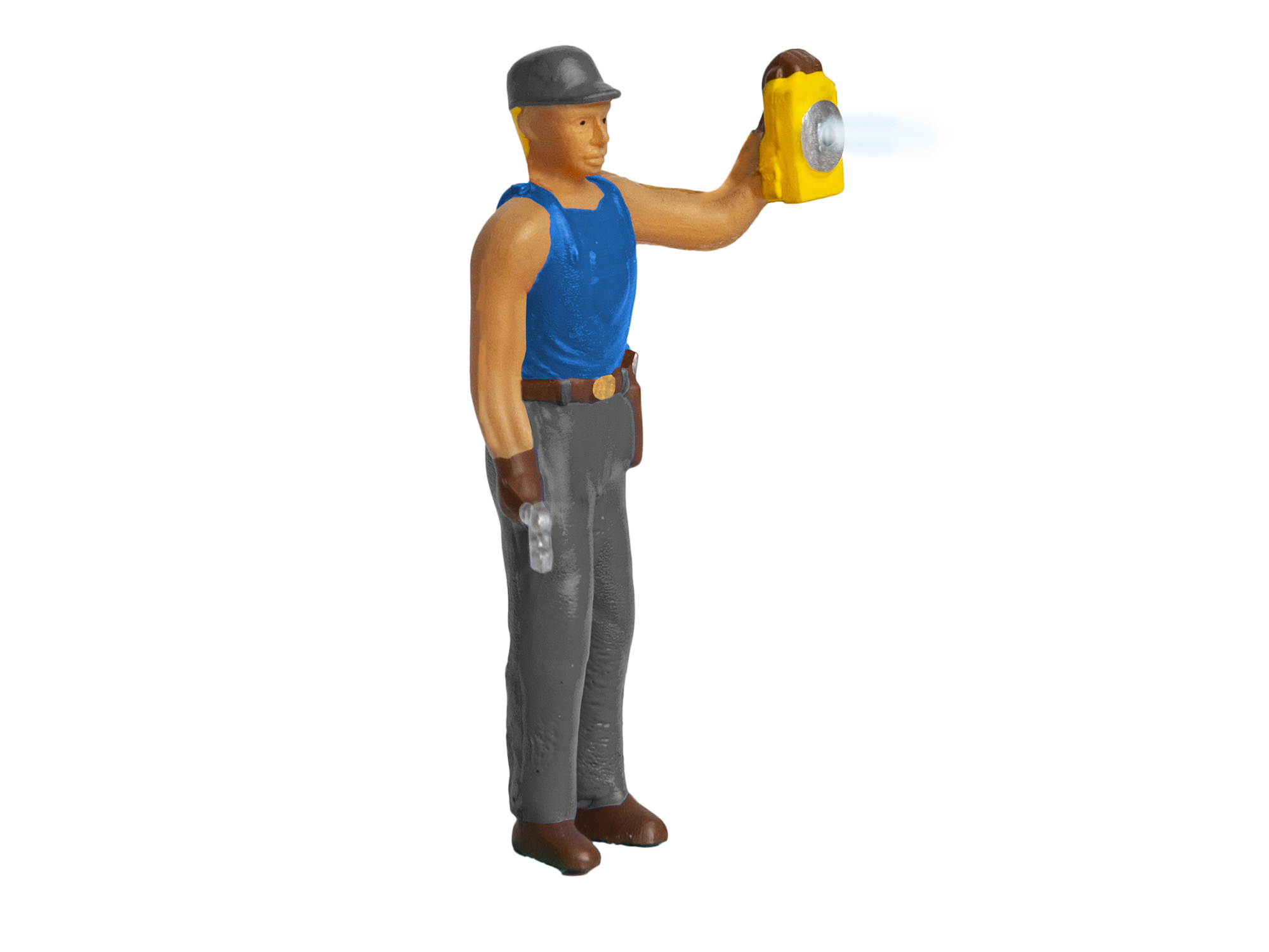 Lionel 1930330 O Railroad Worker w/ Lamp Lighted Figure 434-1930330