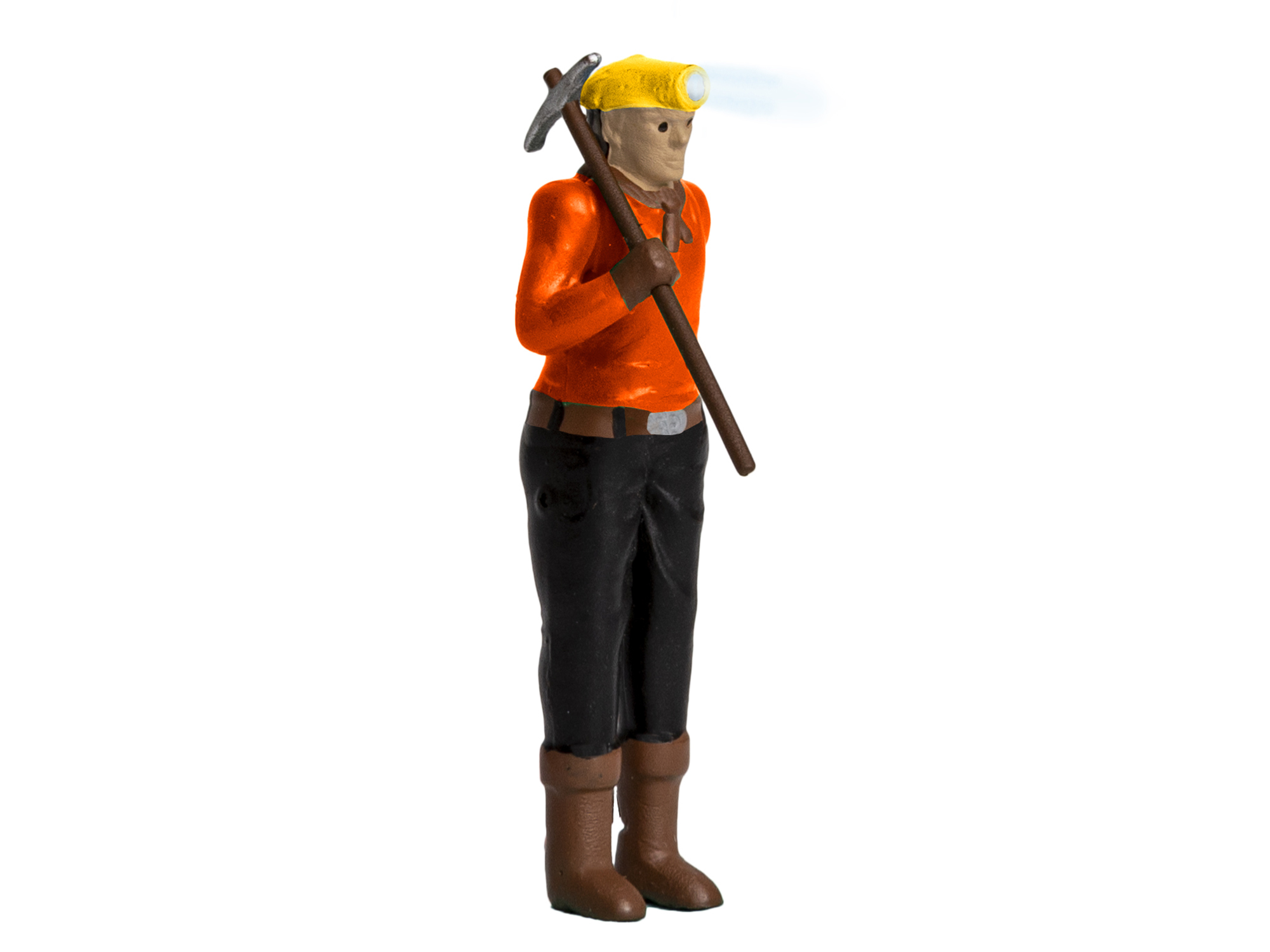Lionel 1930340 O Miner w/ Headlamp Lighted Figure 434-1930340