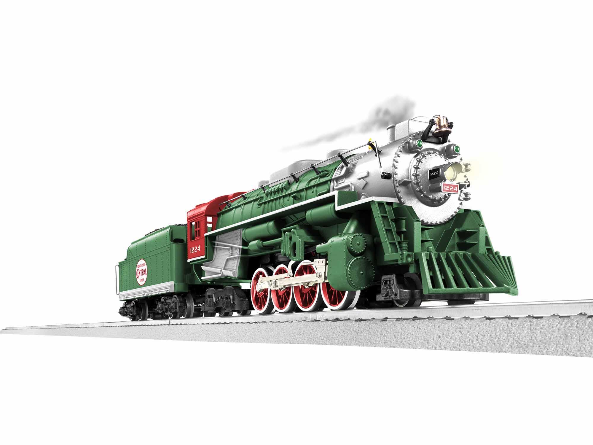 Lionel 1932100 O-31 2-8-4 LC+ 2.0 Berkshire North Pole Central
