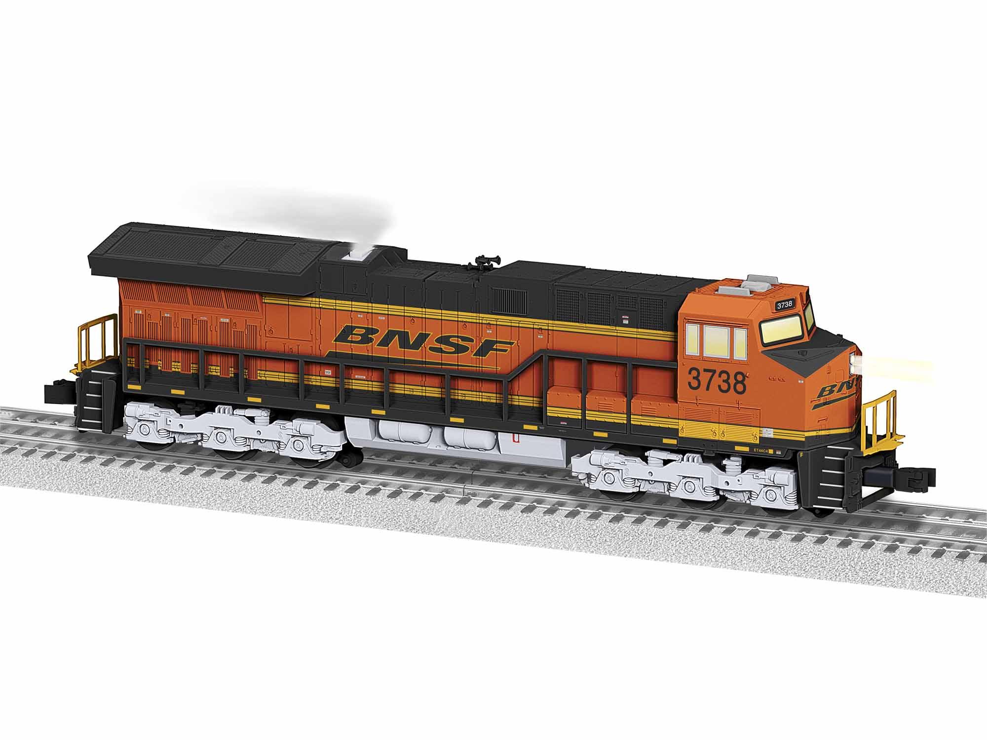 LNL1934011 Lionel O-31 ET44AC, BNSF #3738