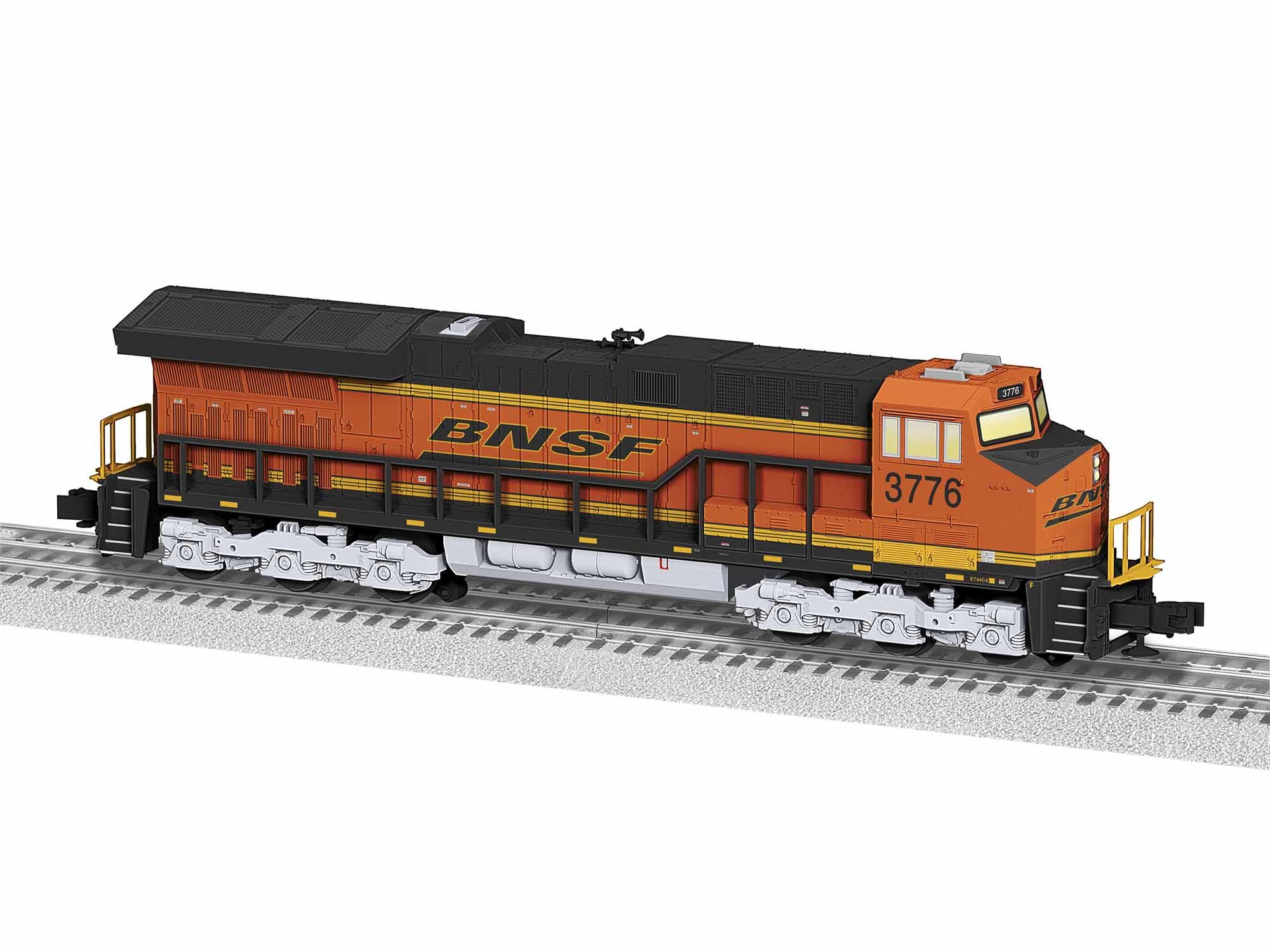 LNL1934012 Lionel O-31 ET44AC, BNSF #3776