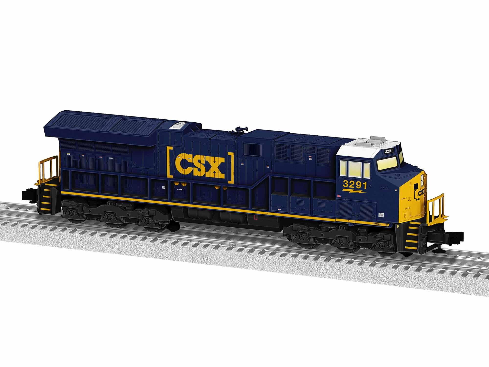 LNL1934022 Lionel O-31 ET44AC, CSX #3291