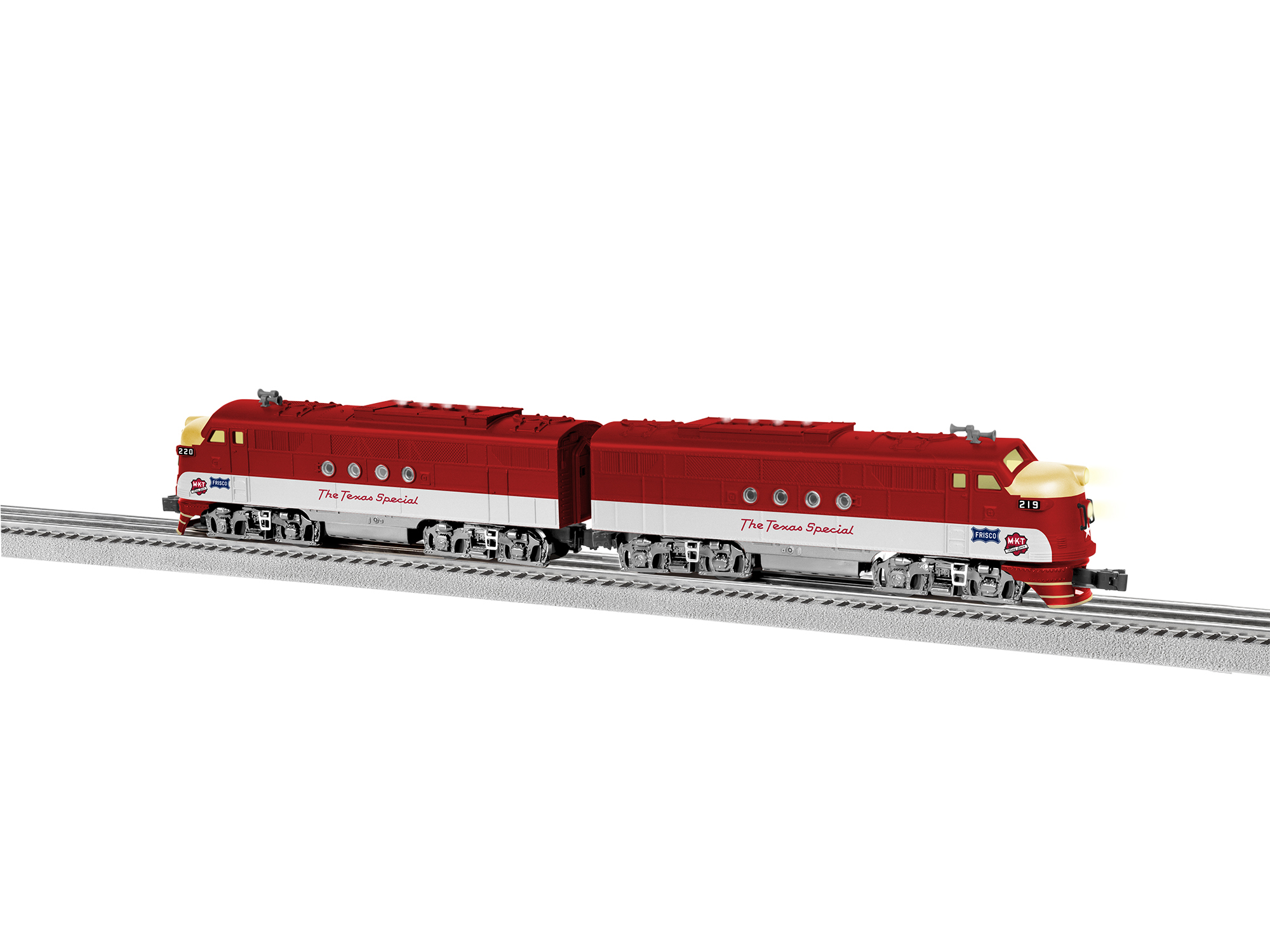 LNL1934120 Lionel O-31 FT AA, Texas Special
