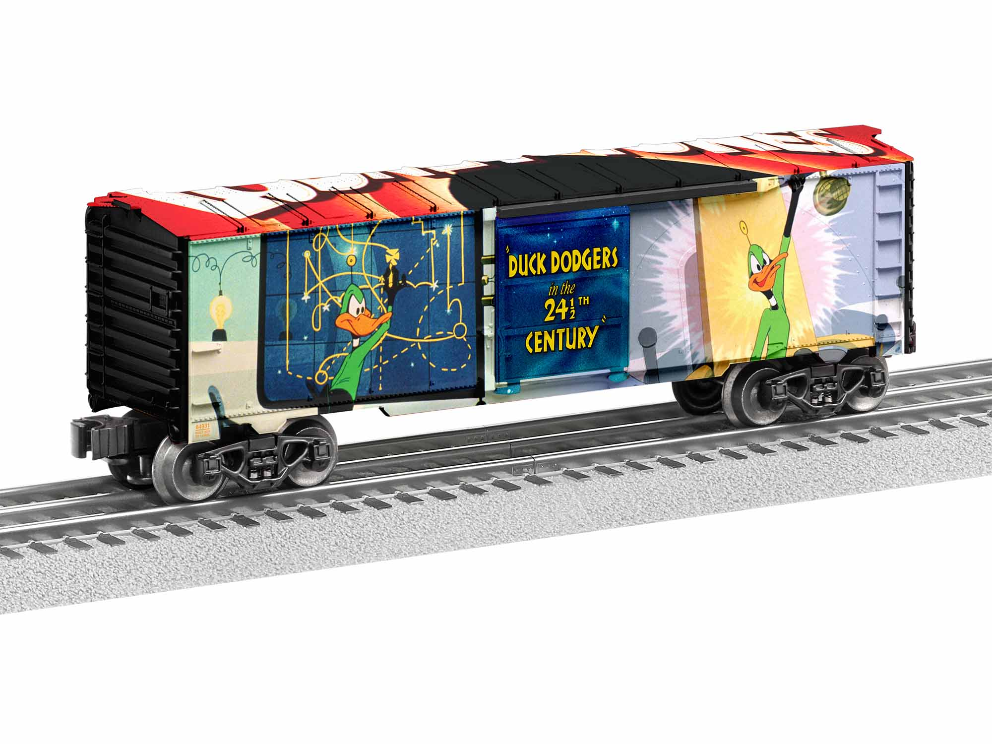 Lionel 1938110 O-27 Duck Dodgers Boxcar Made in USA LNL1938110